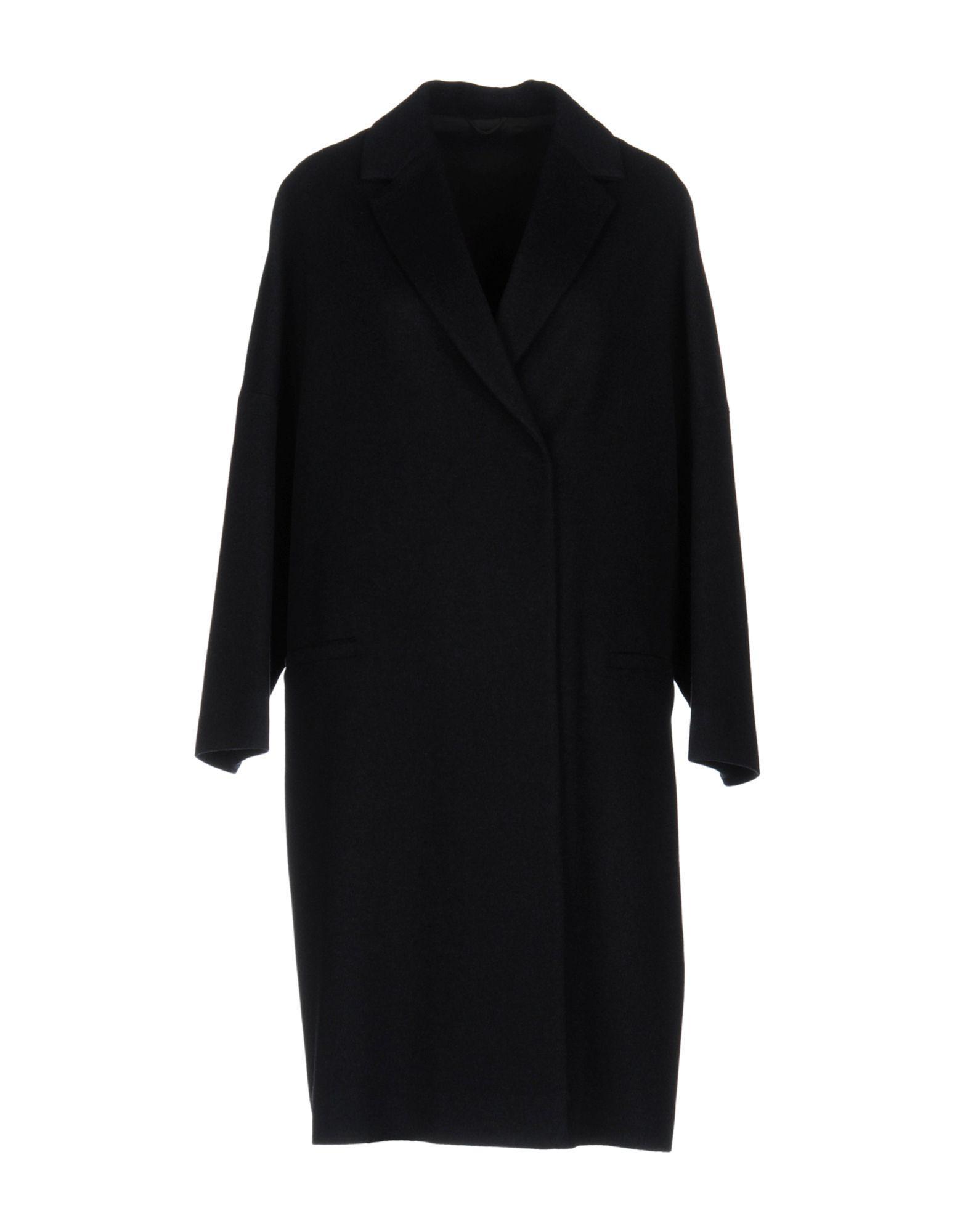 Brunello Cucinelli Coat In Dark Blue