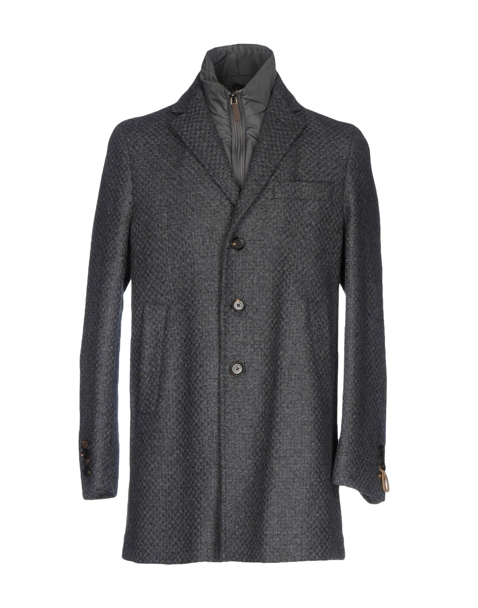 Paoloni Coats In Grey