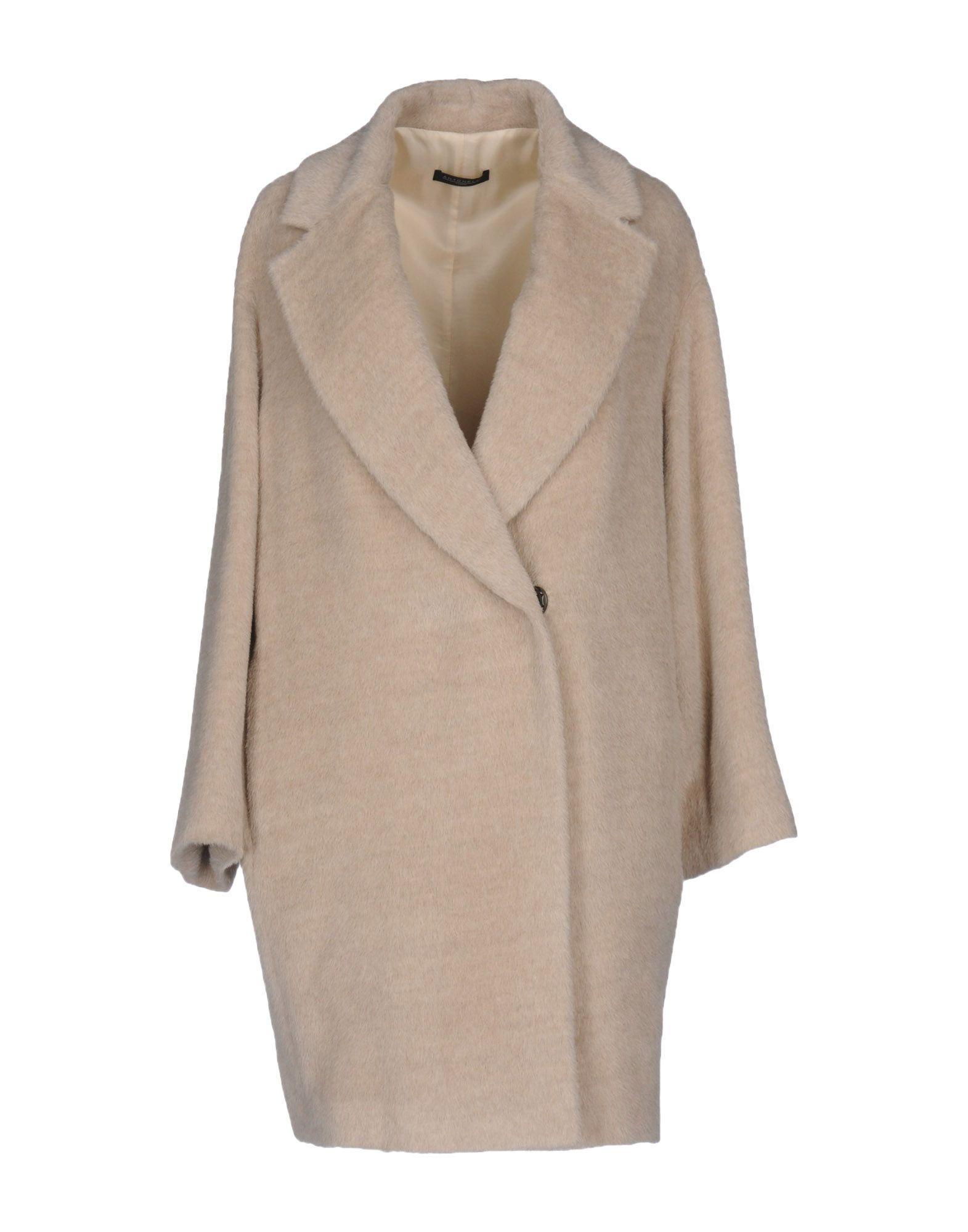 Antonelli Coats In Beige