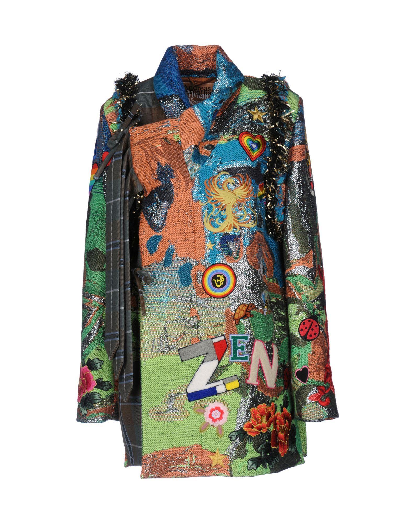 Vivienne Westwood Coats In Acid Green