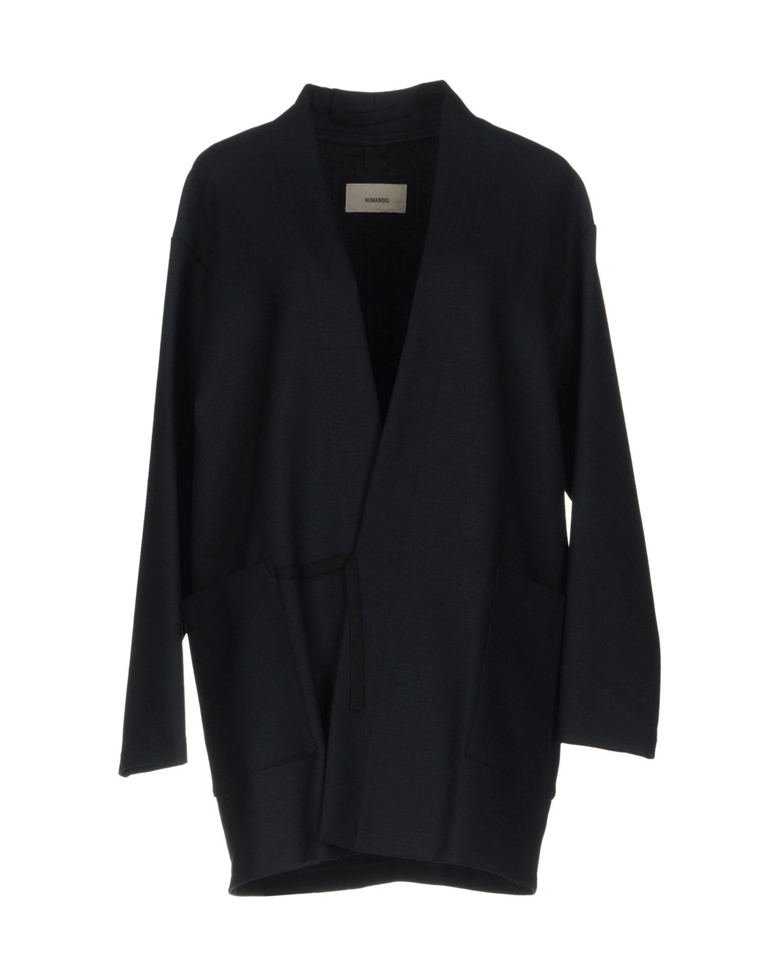 Humanoid Coat In Dark Blue