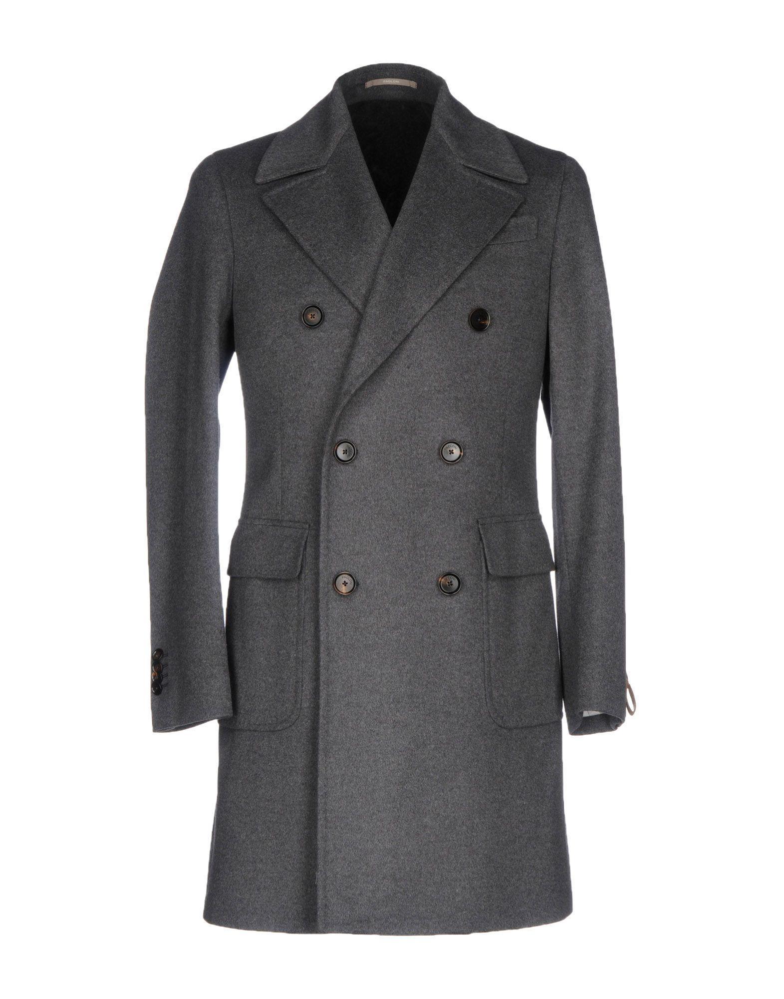 Paoloni Coat In Steel Grey