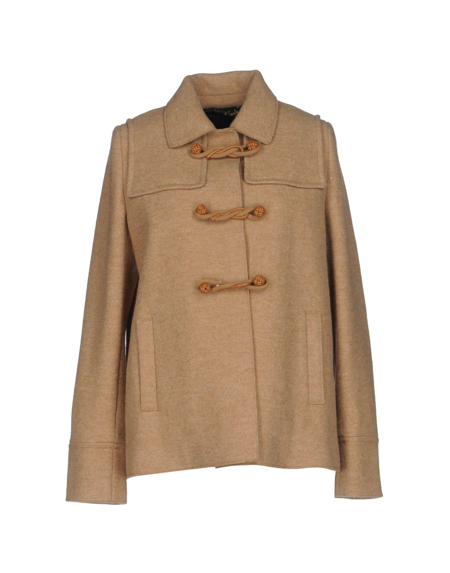 Siviglia Coats In Camel