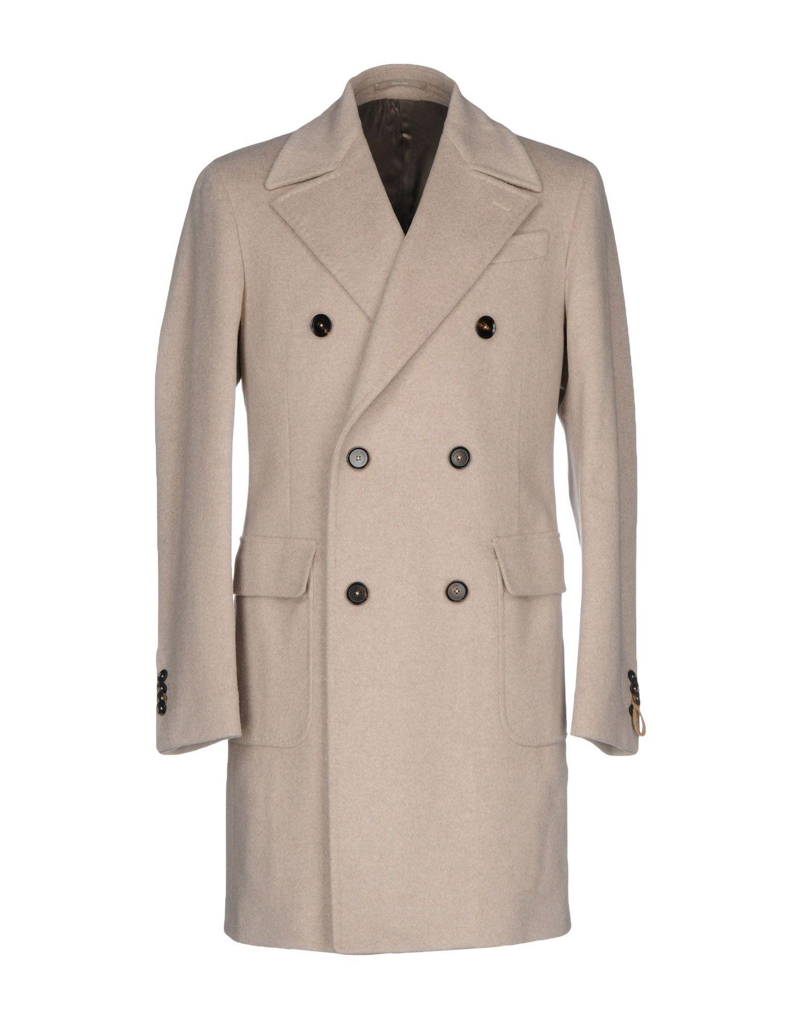 Paoloni Coats In Light Grey