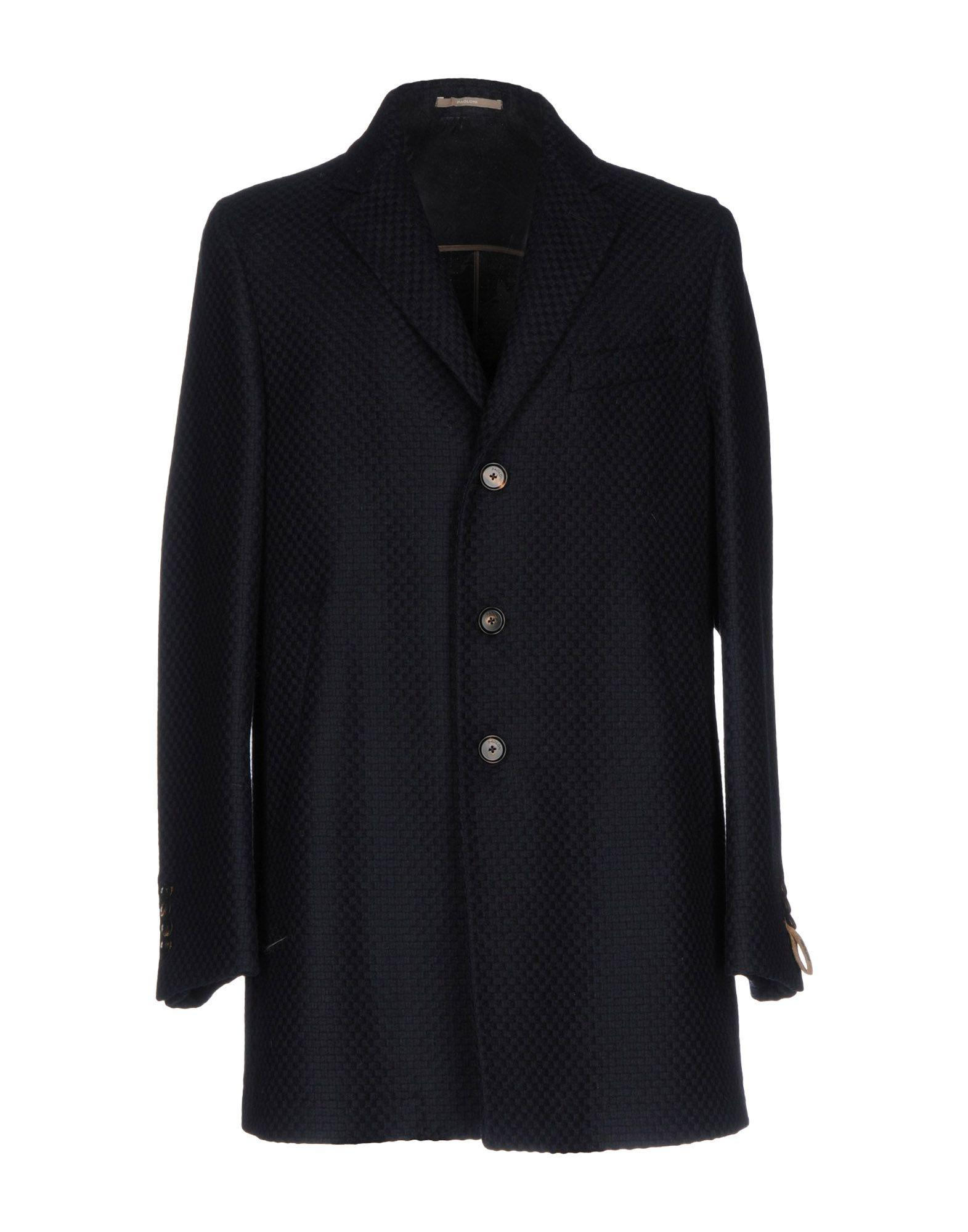 Paoloni Coats In Dark Blue