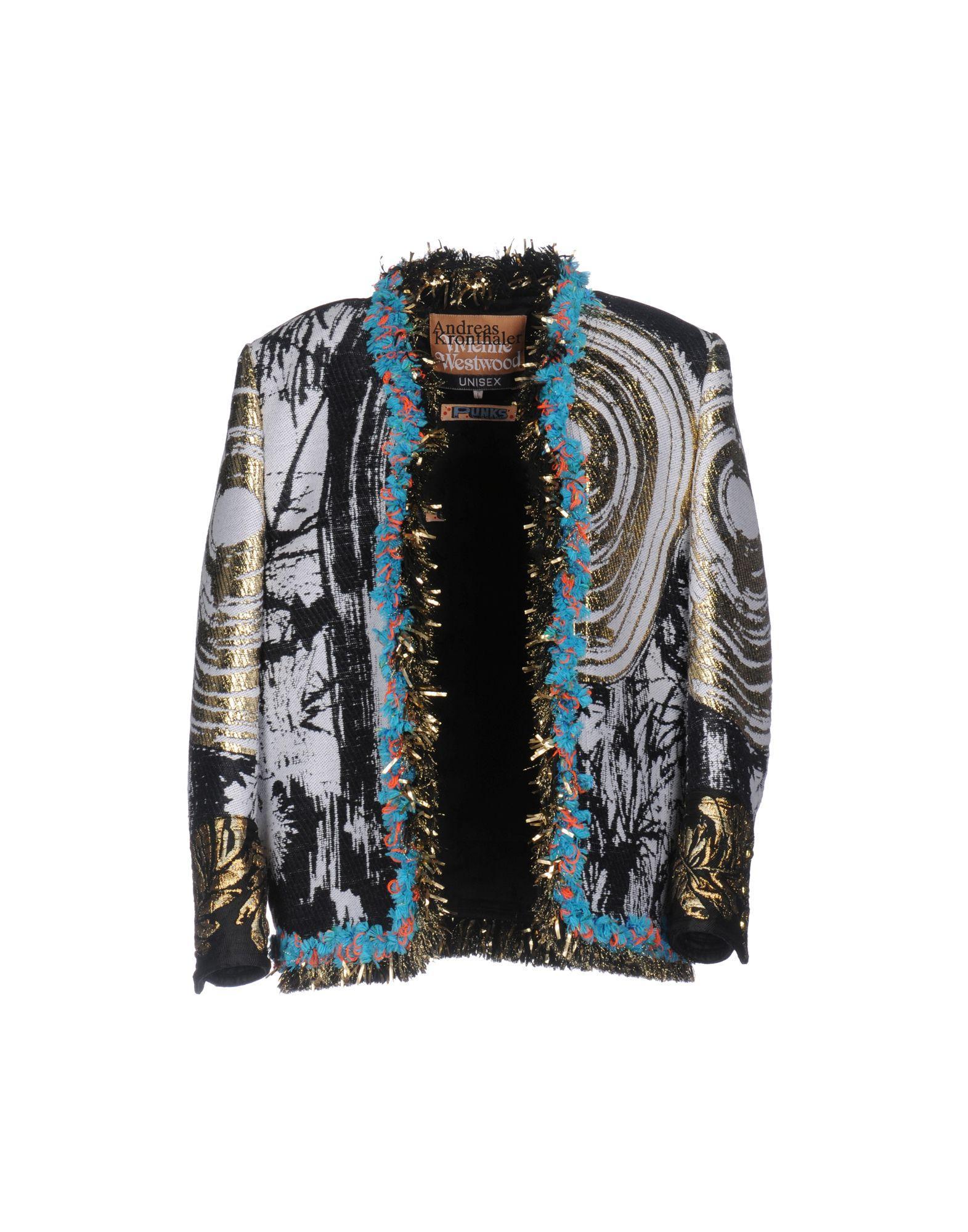 Vivienne Westwood Coats In Black