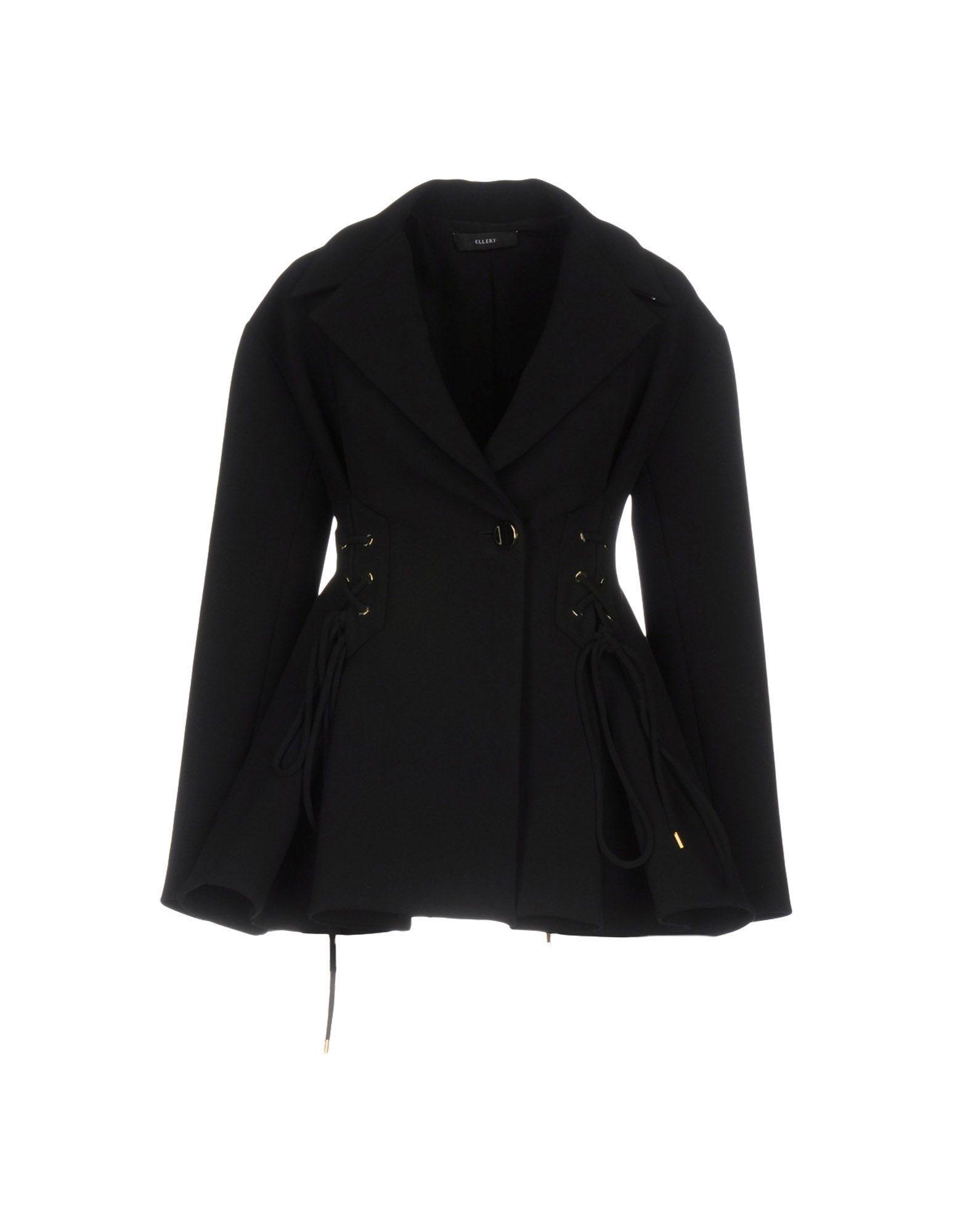 Ellery Coat In Black