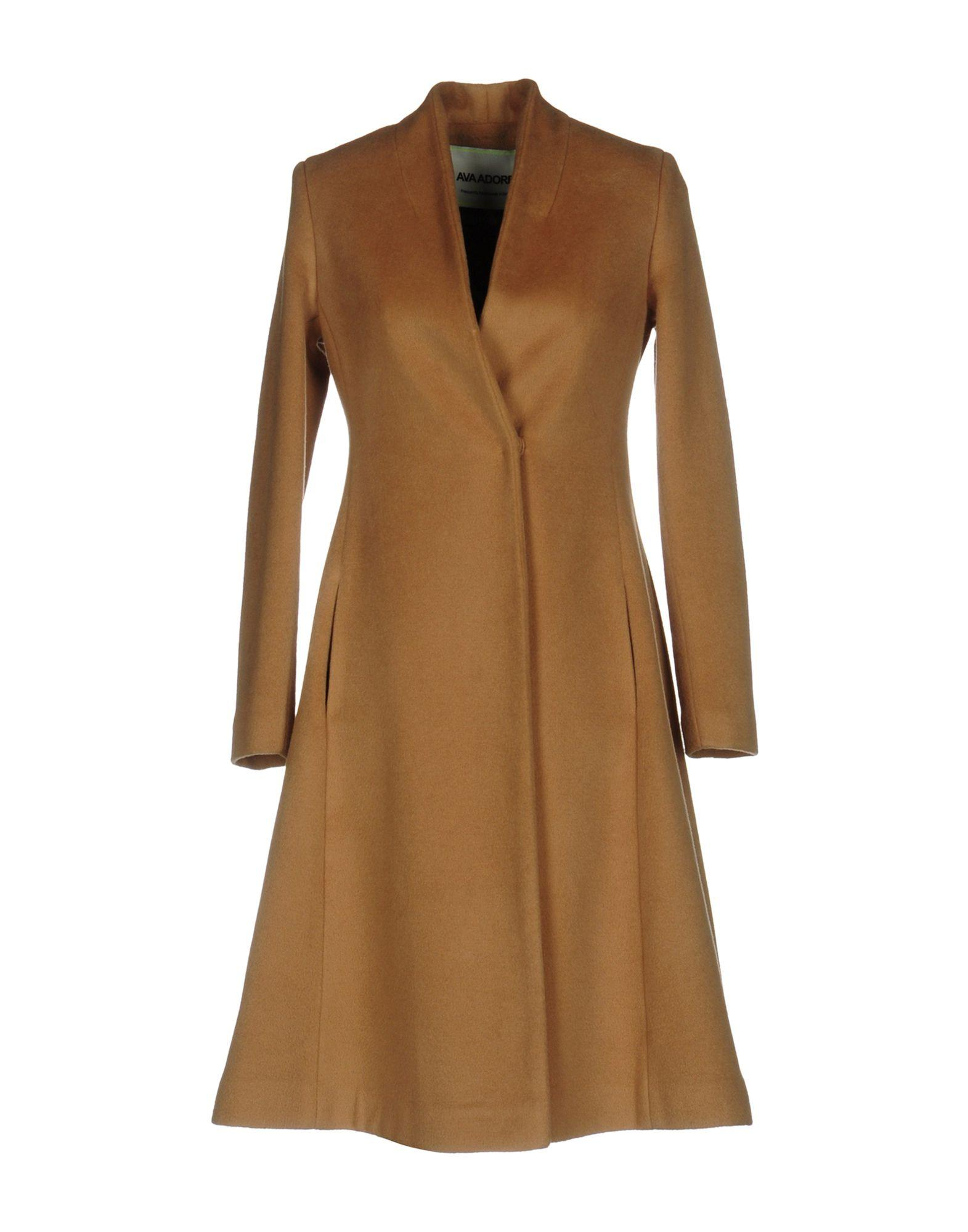 Ava Adore Coat In Khaki
