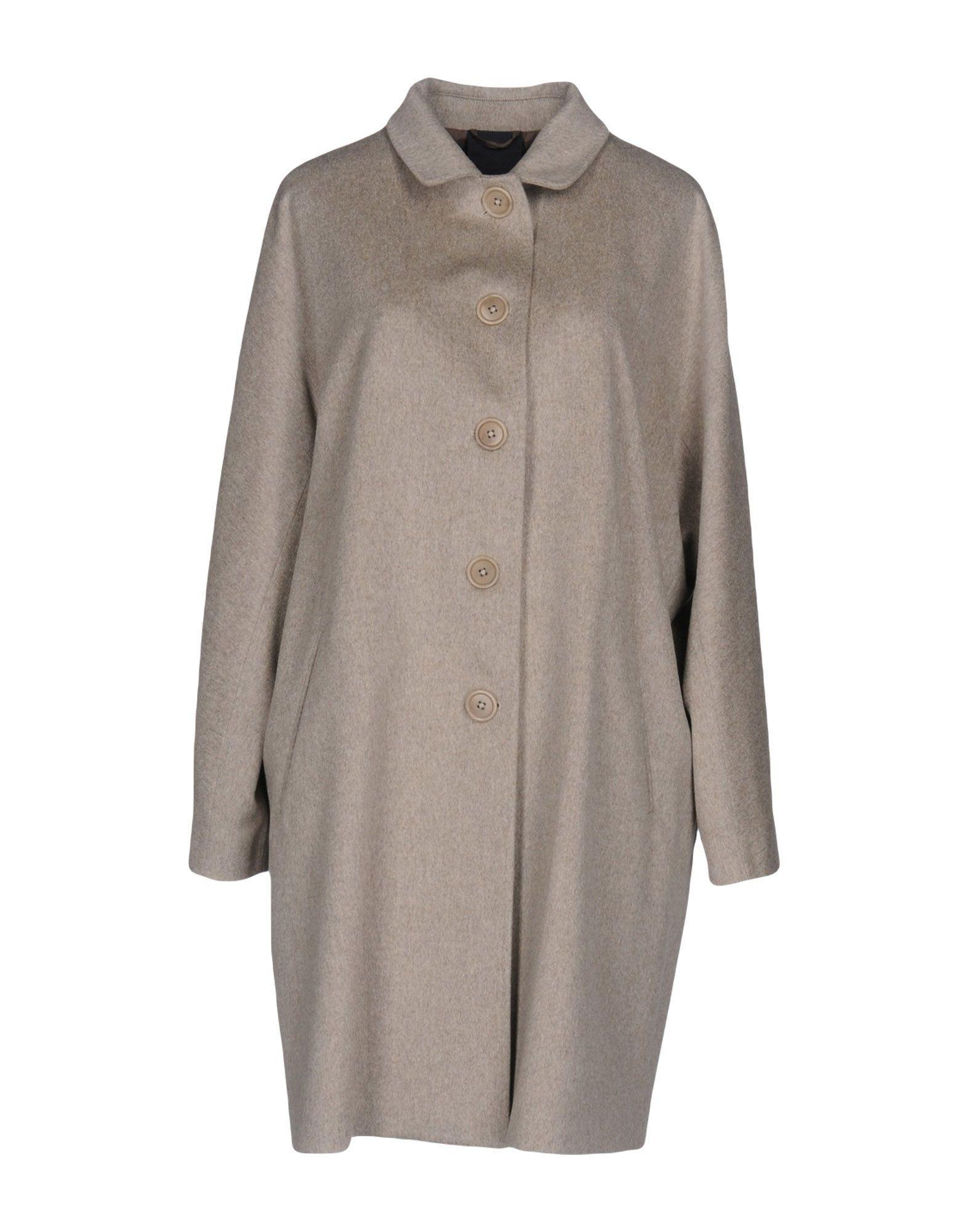 Aspesi Coats In Dove Grey