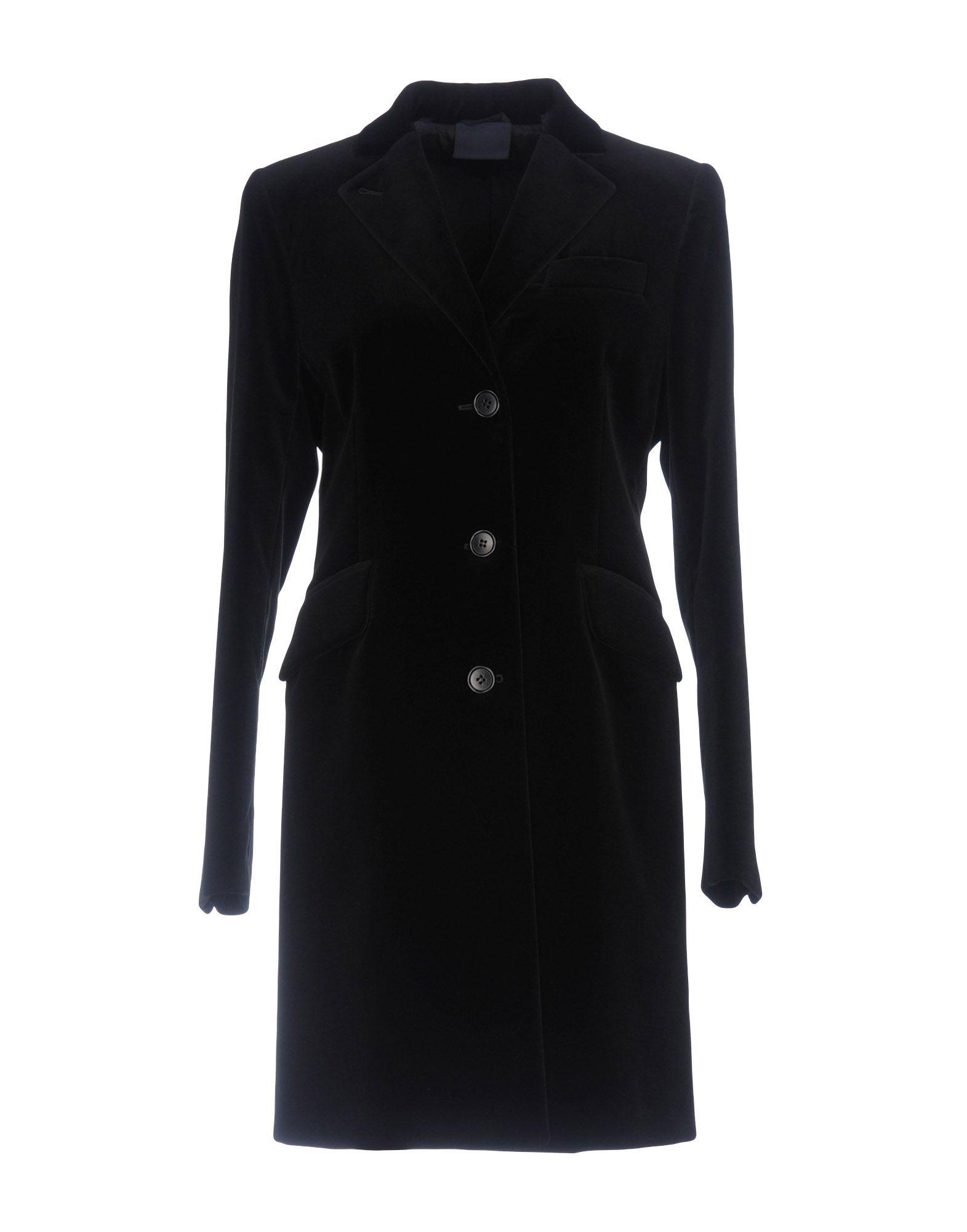 Aspesi Coats In Black