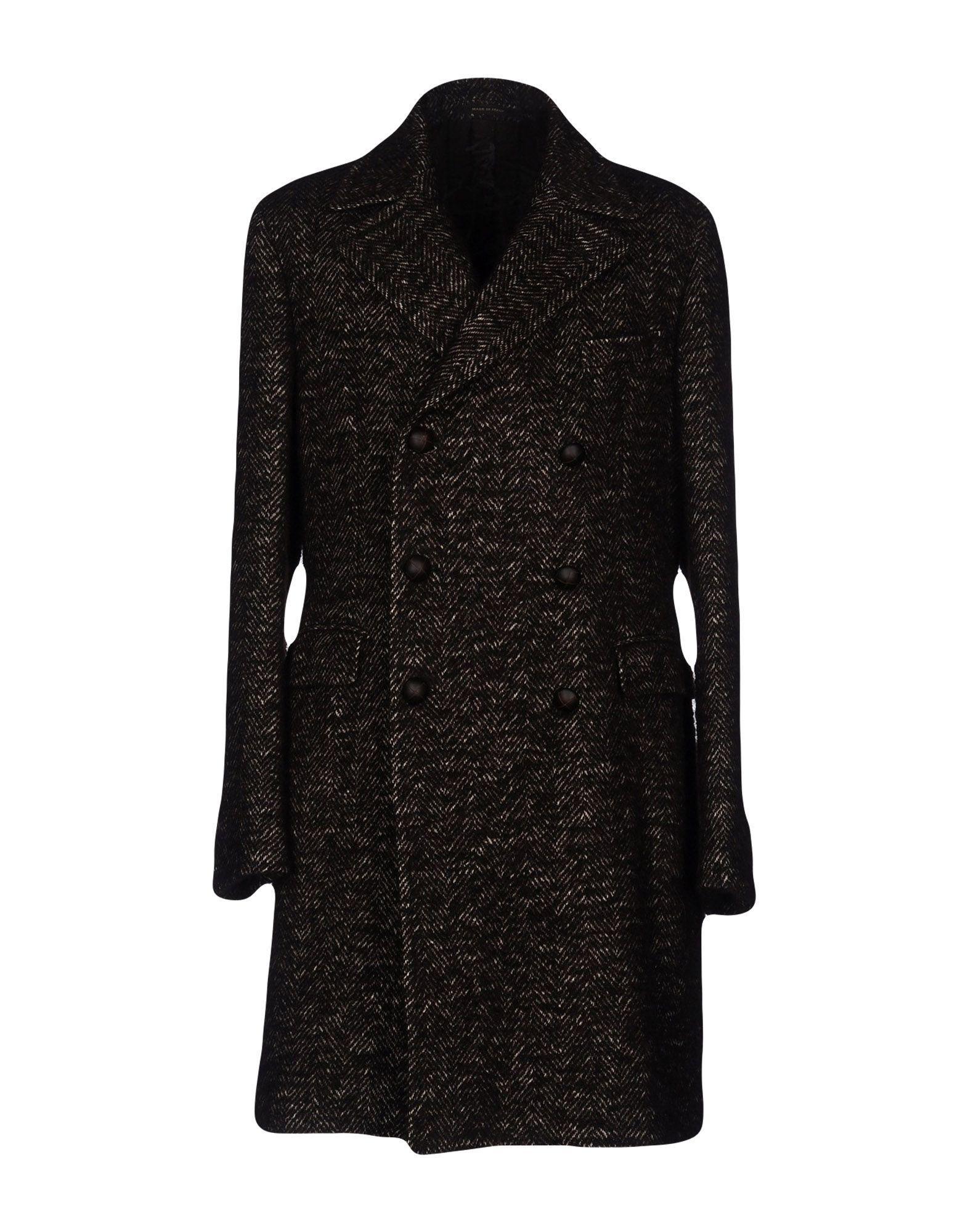 Tagliatore Coats In Dark Brown