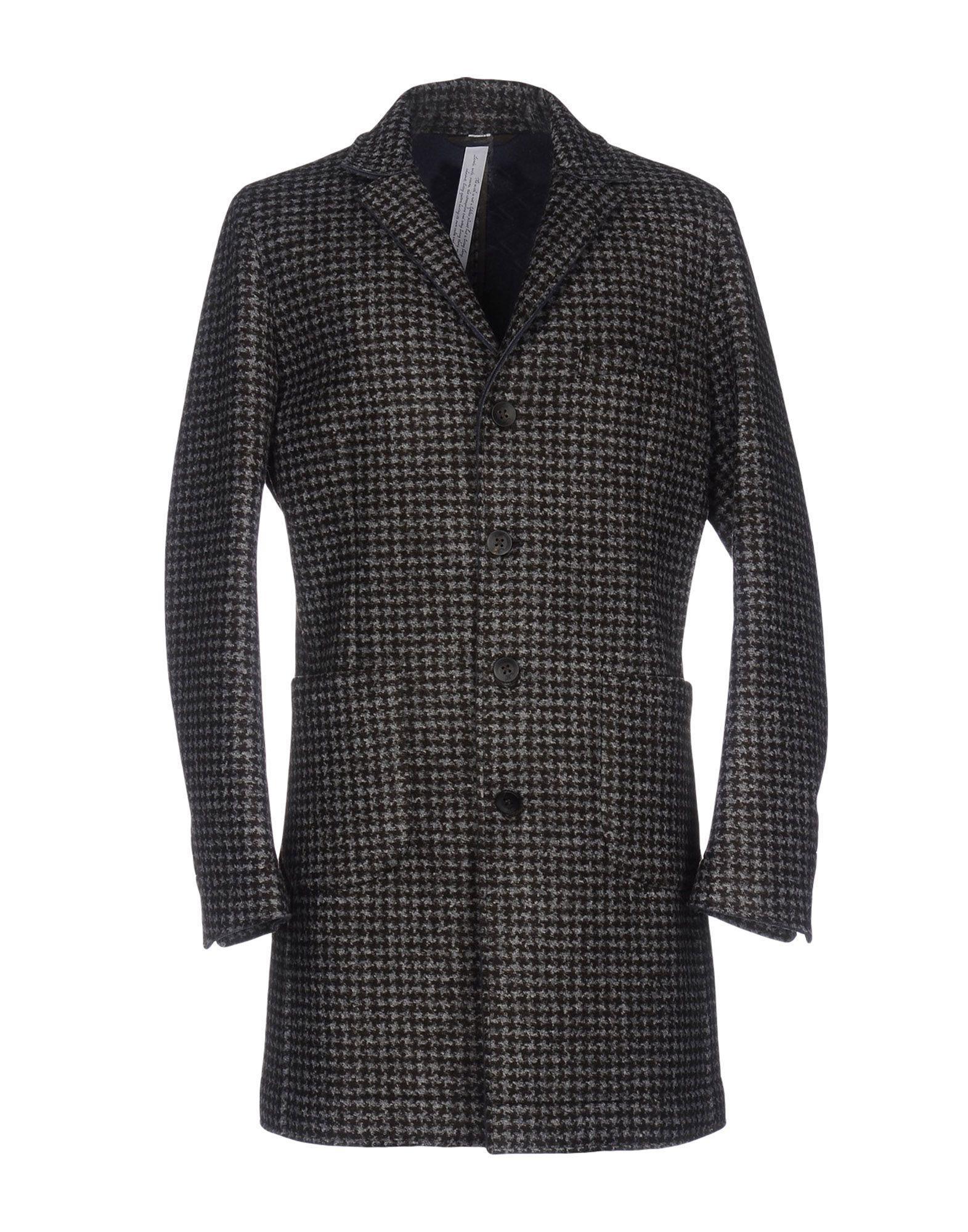 Mason's Coat In Dark Brown