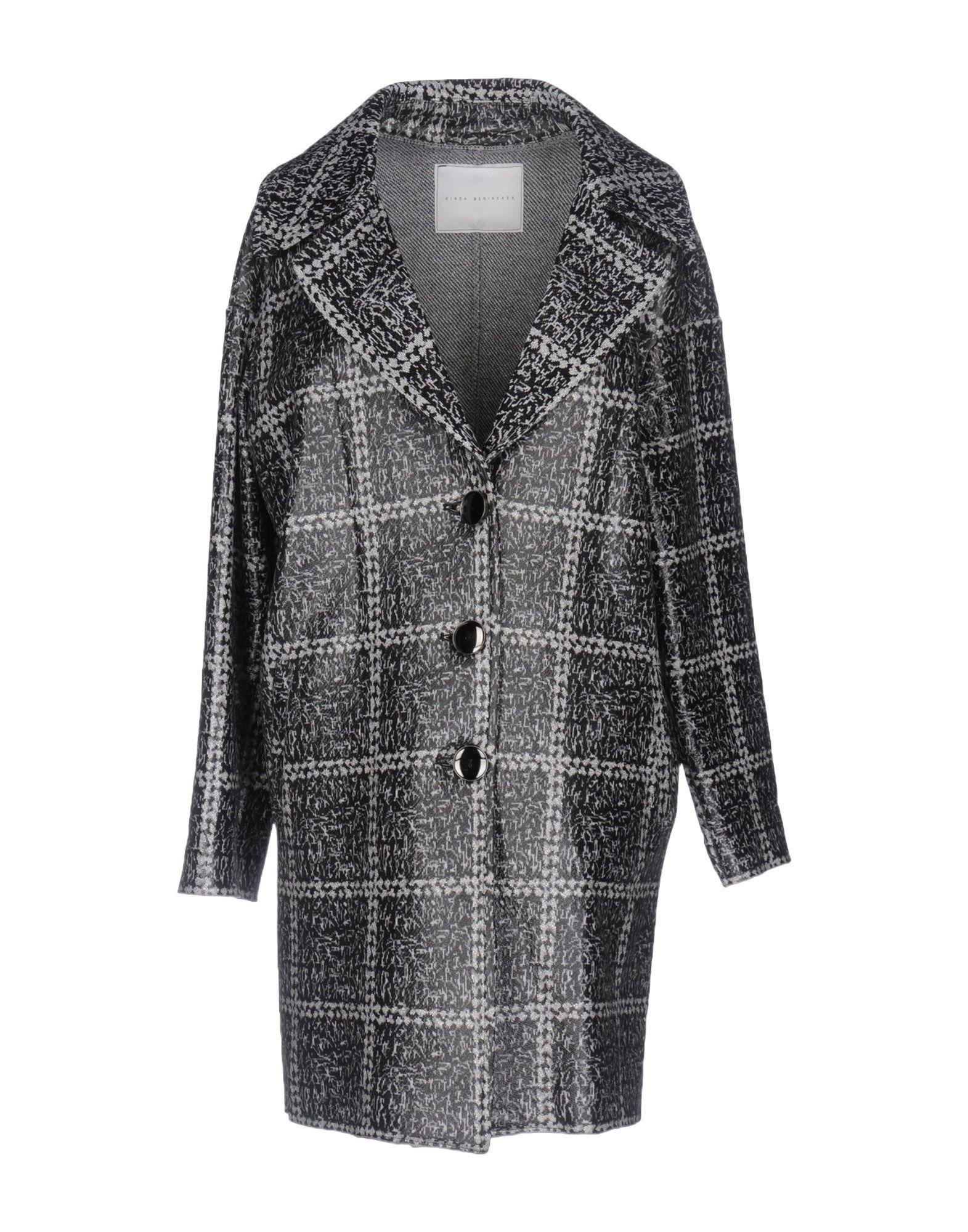 Giada Benincasa Coat In Black