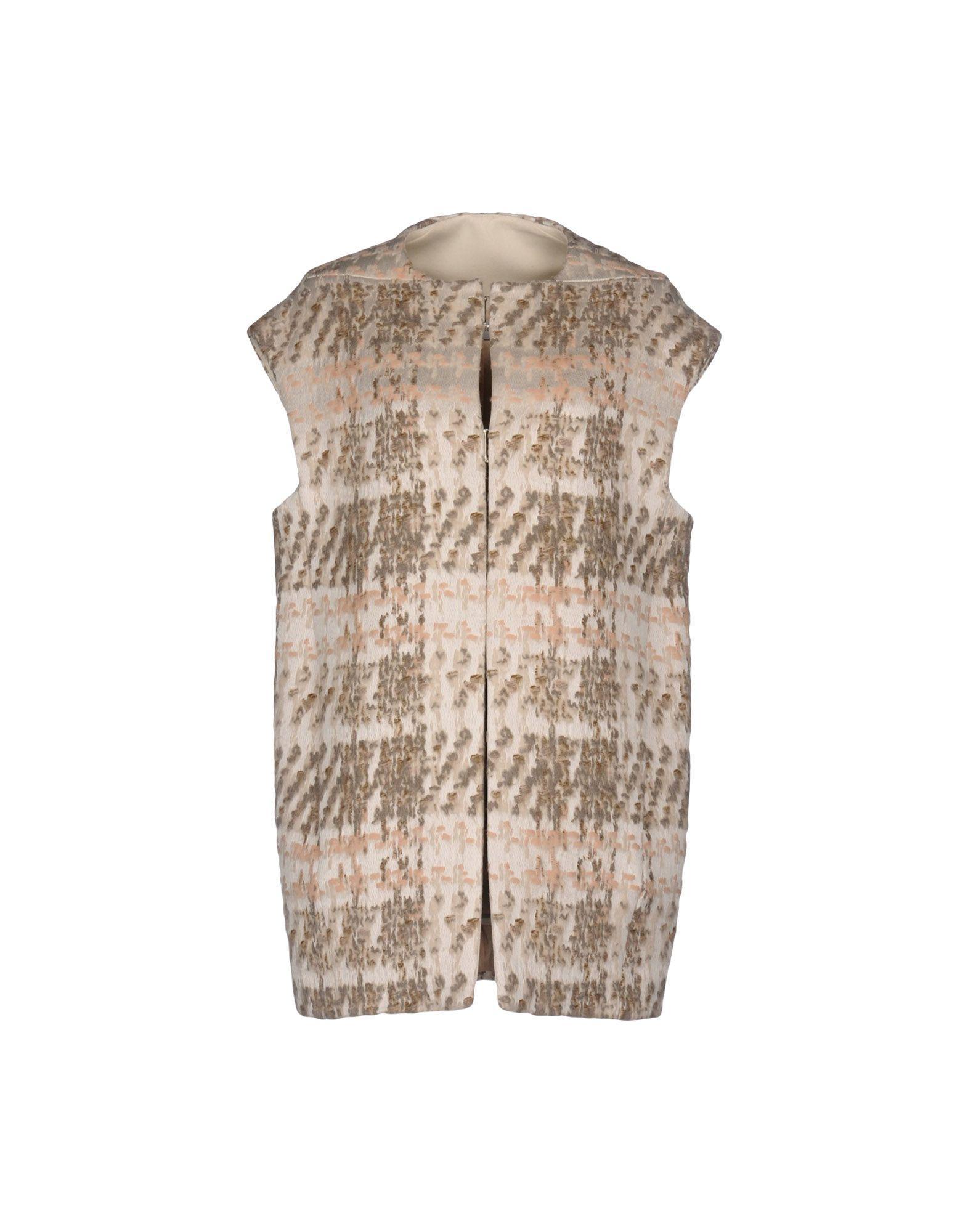 Philosophy Di Alberta Ferretti Coats In Ivory