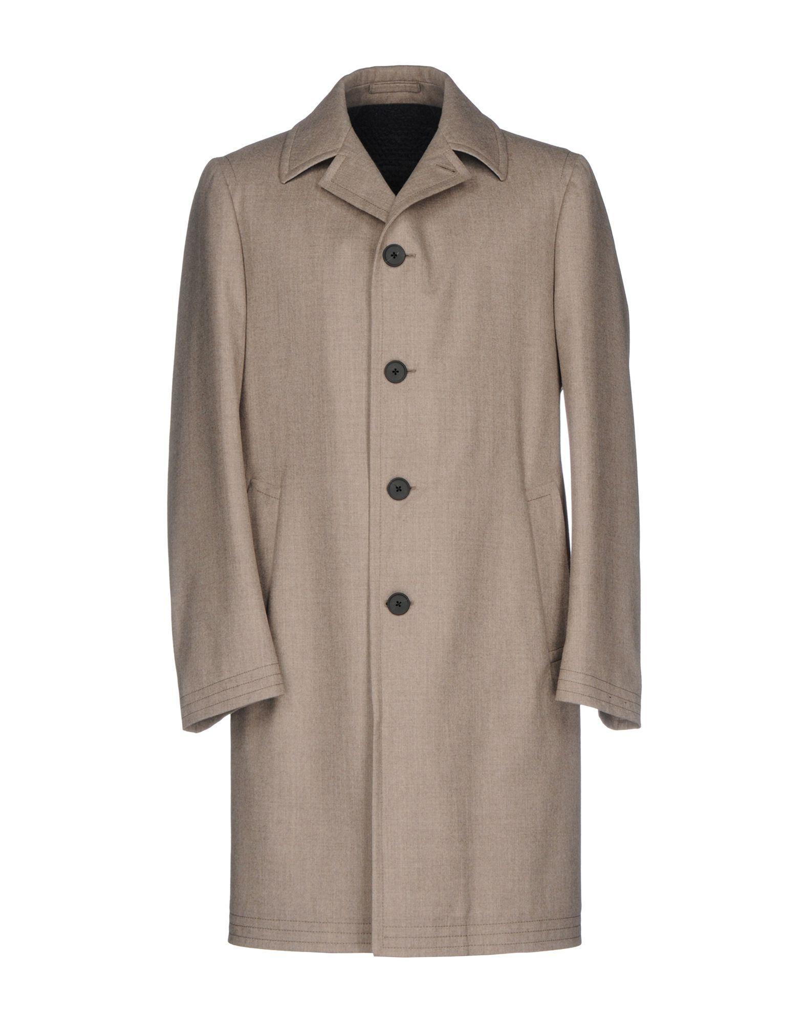 Lardini Coats In Dove Grey