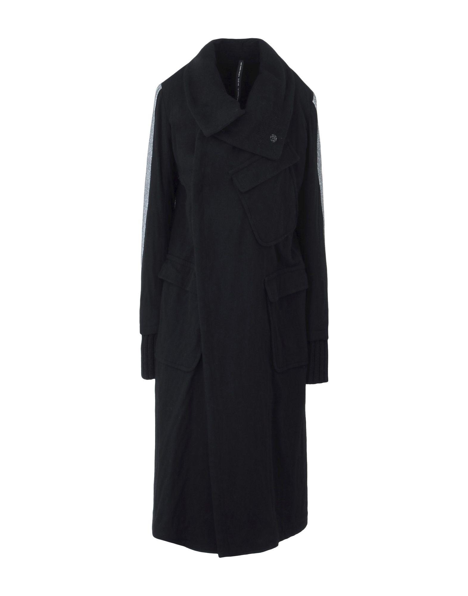 Nude:masahiko Maruyama Nude: Masahiko Maruyama Coats In Black
