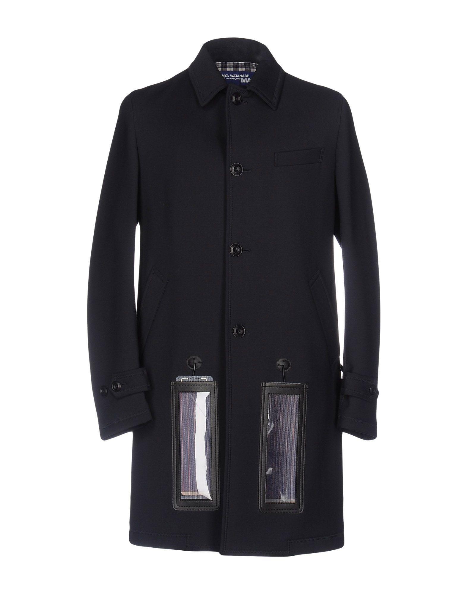 Junya Watanabe Coat In Dark Blue