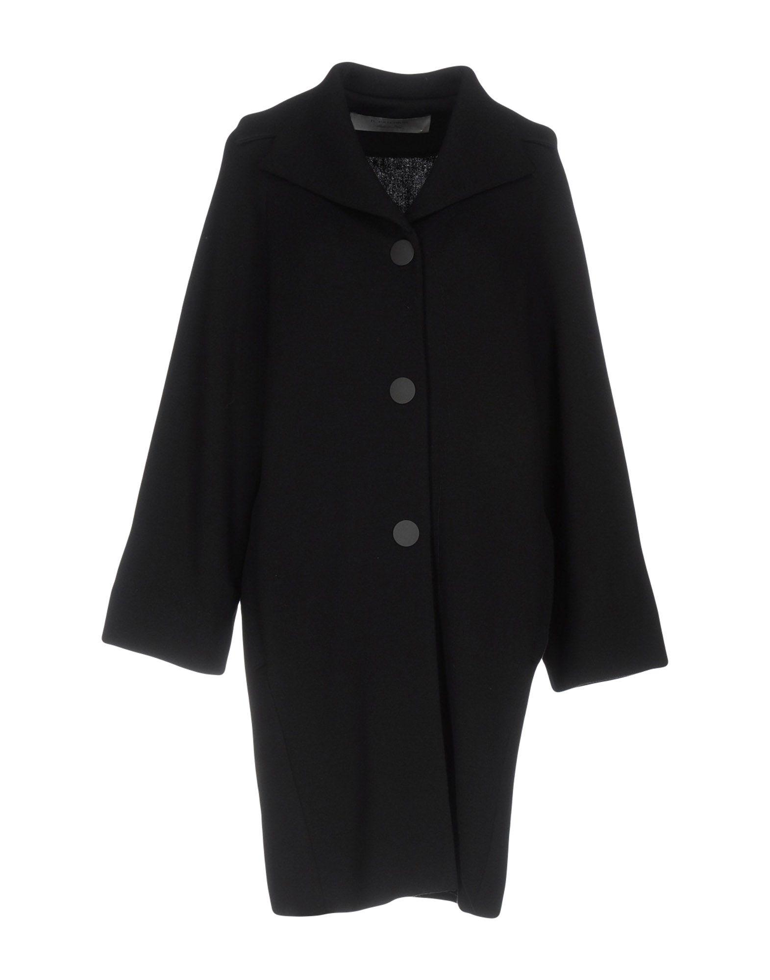 D.exterior Coat In Black