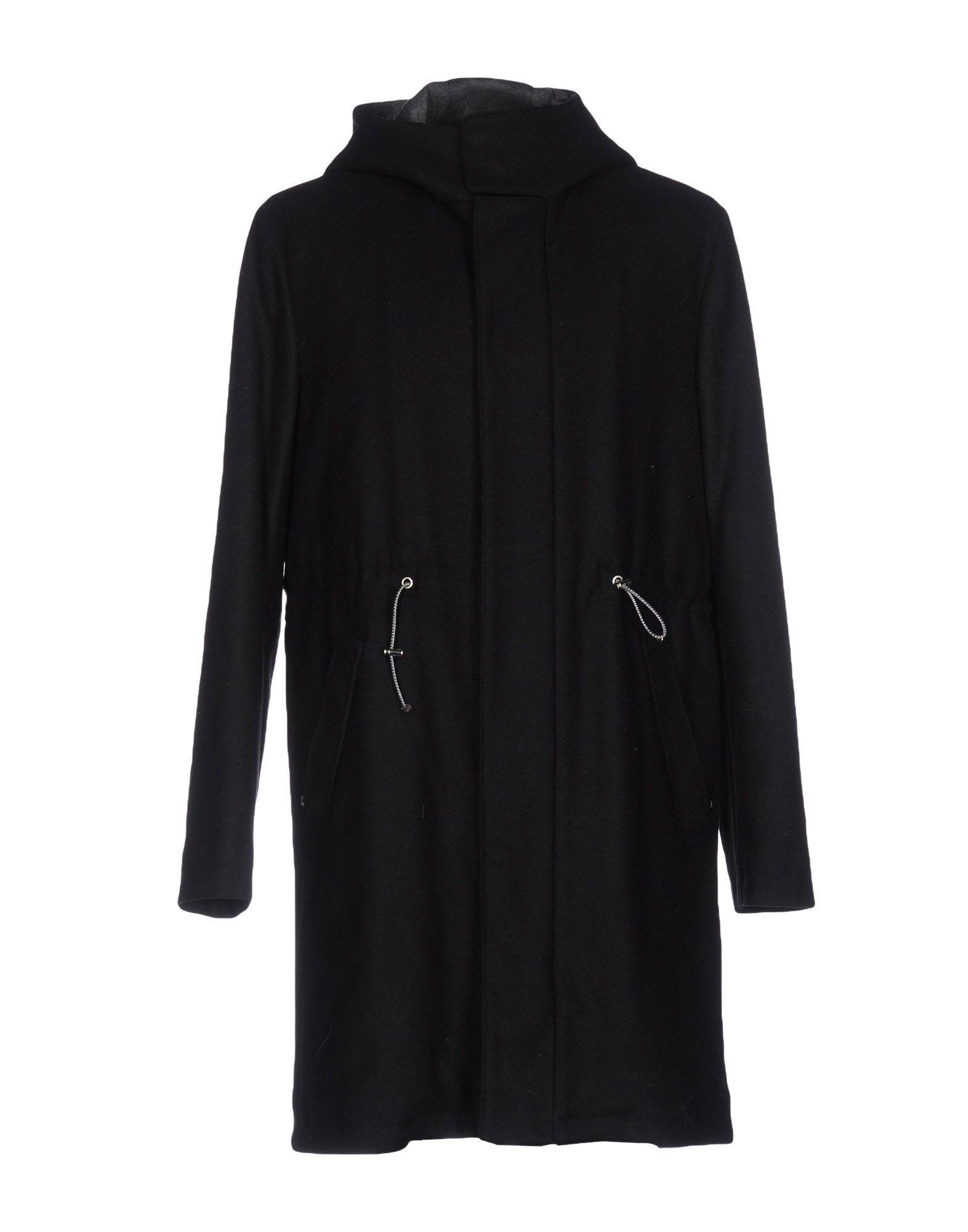 Paolo Pecora Coats In Black