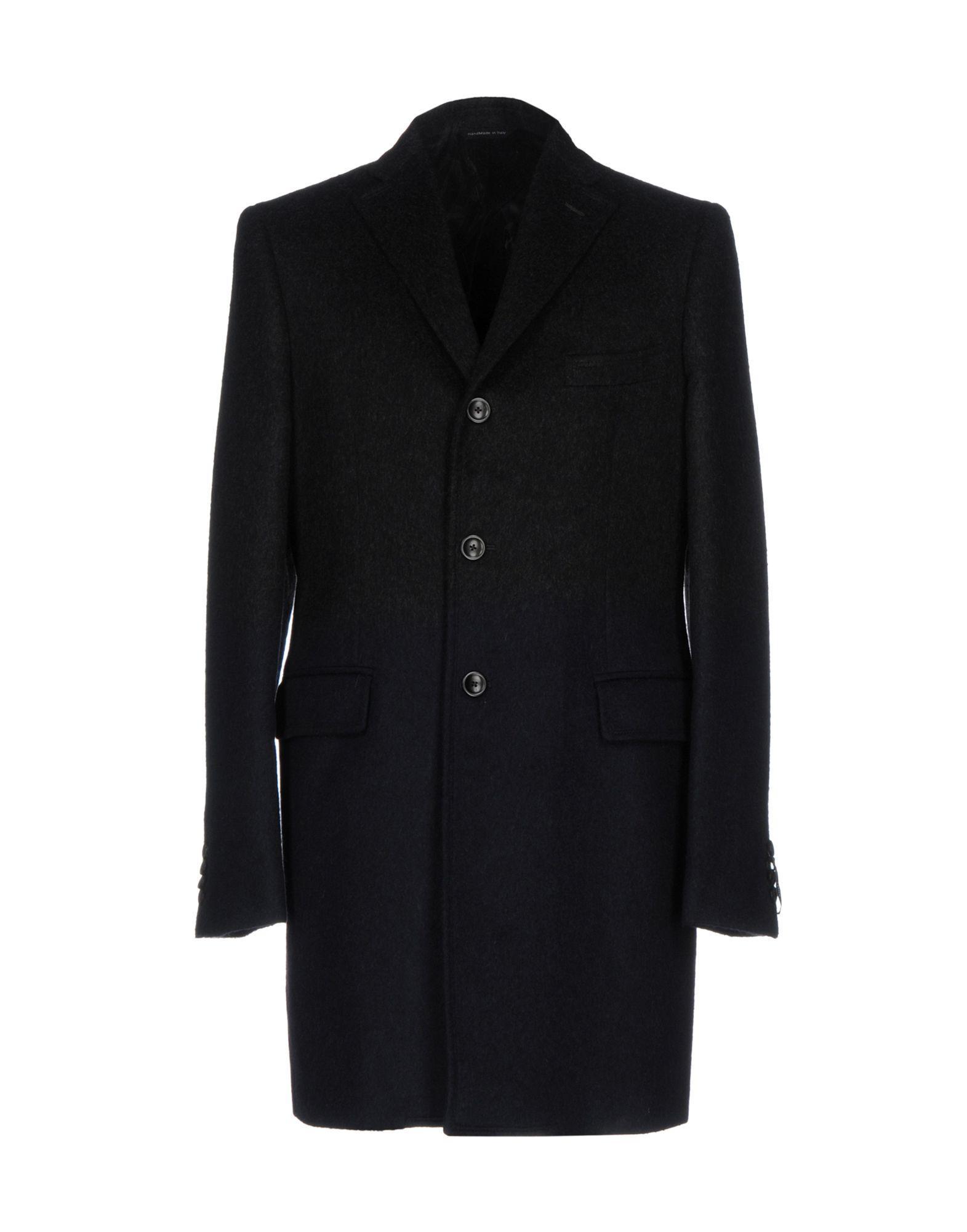 Tonello Coat In Steel Grey