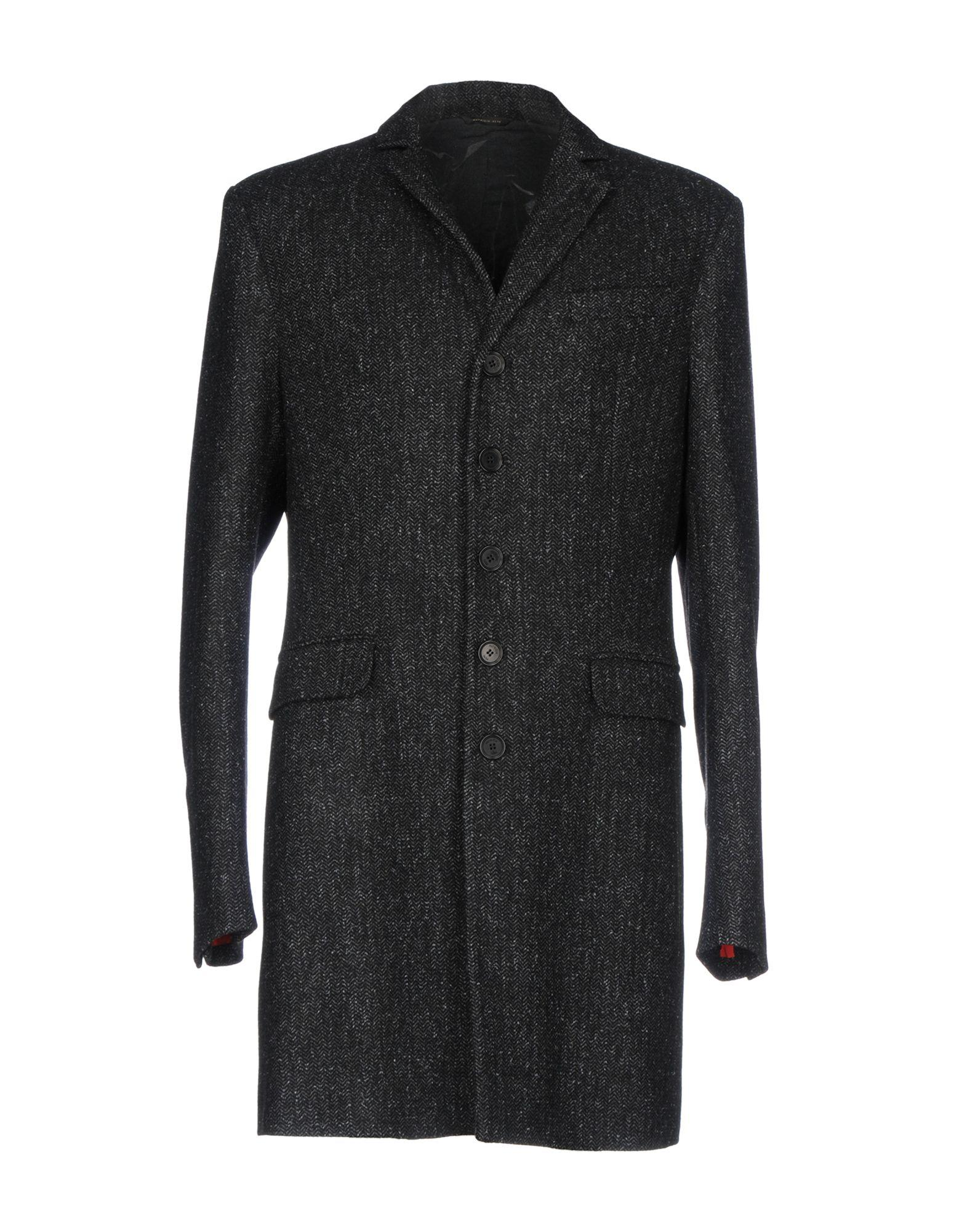 Patrizia Pepe Coats In Steel Grey