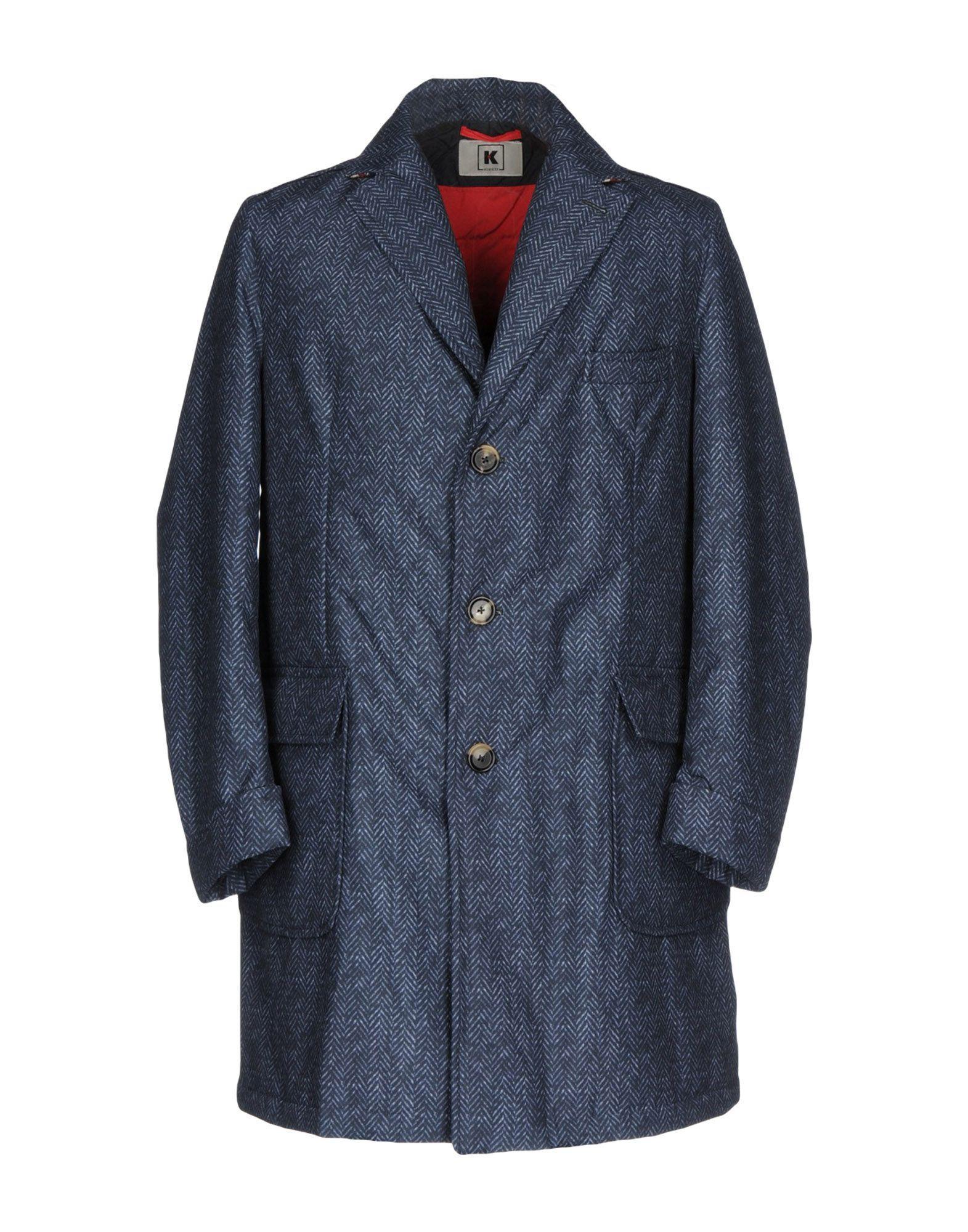 Kired Coat In Slate Blue