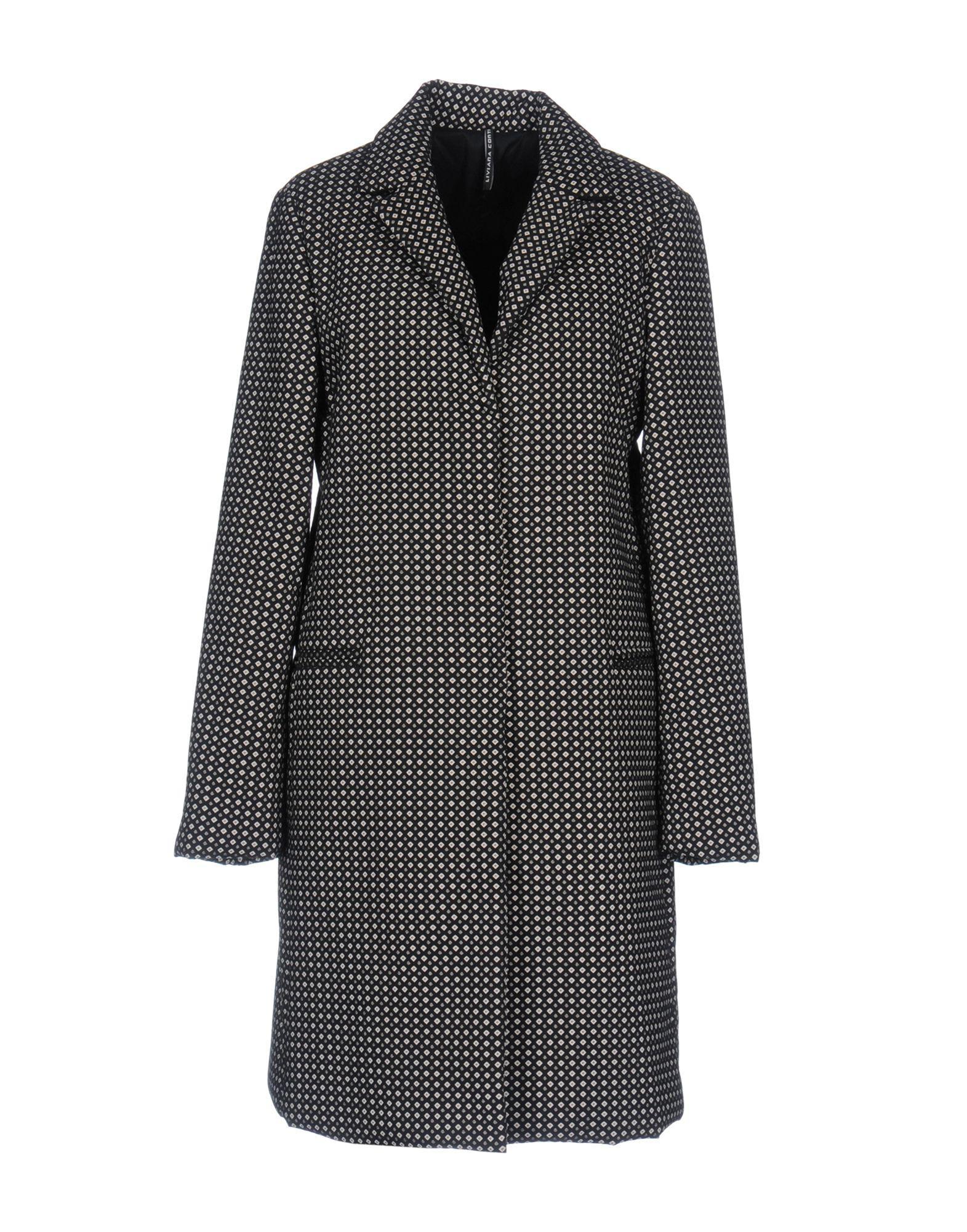 Liviana Conti Coat In Black