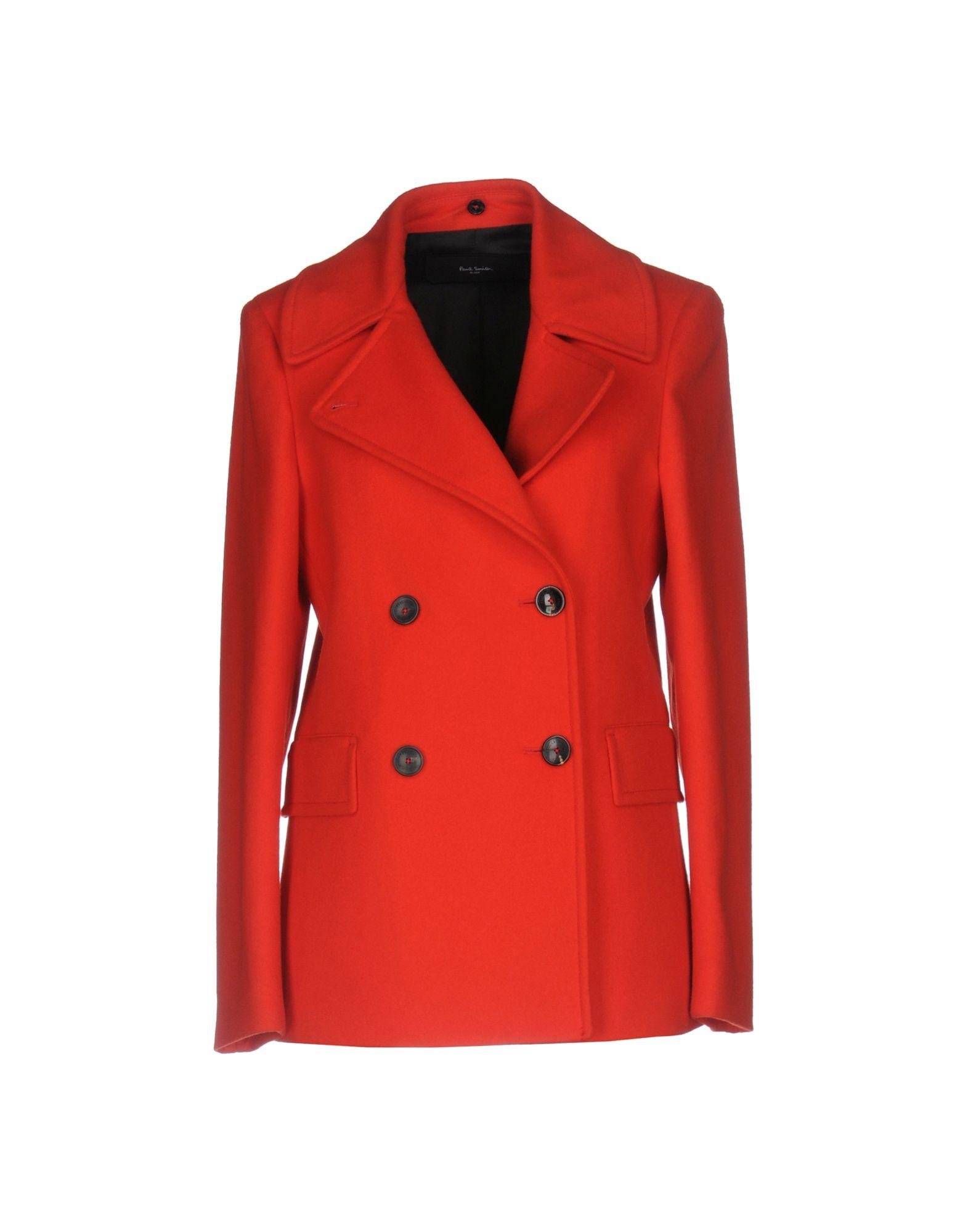Paul Smith Coats In Red