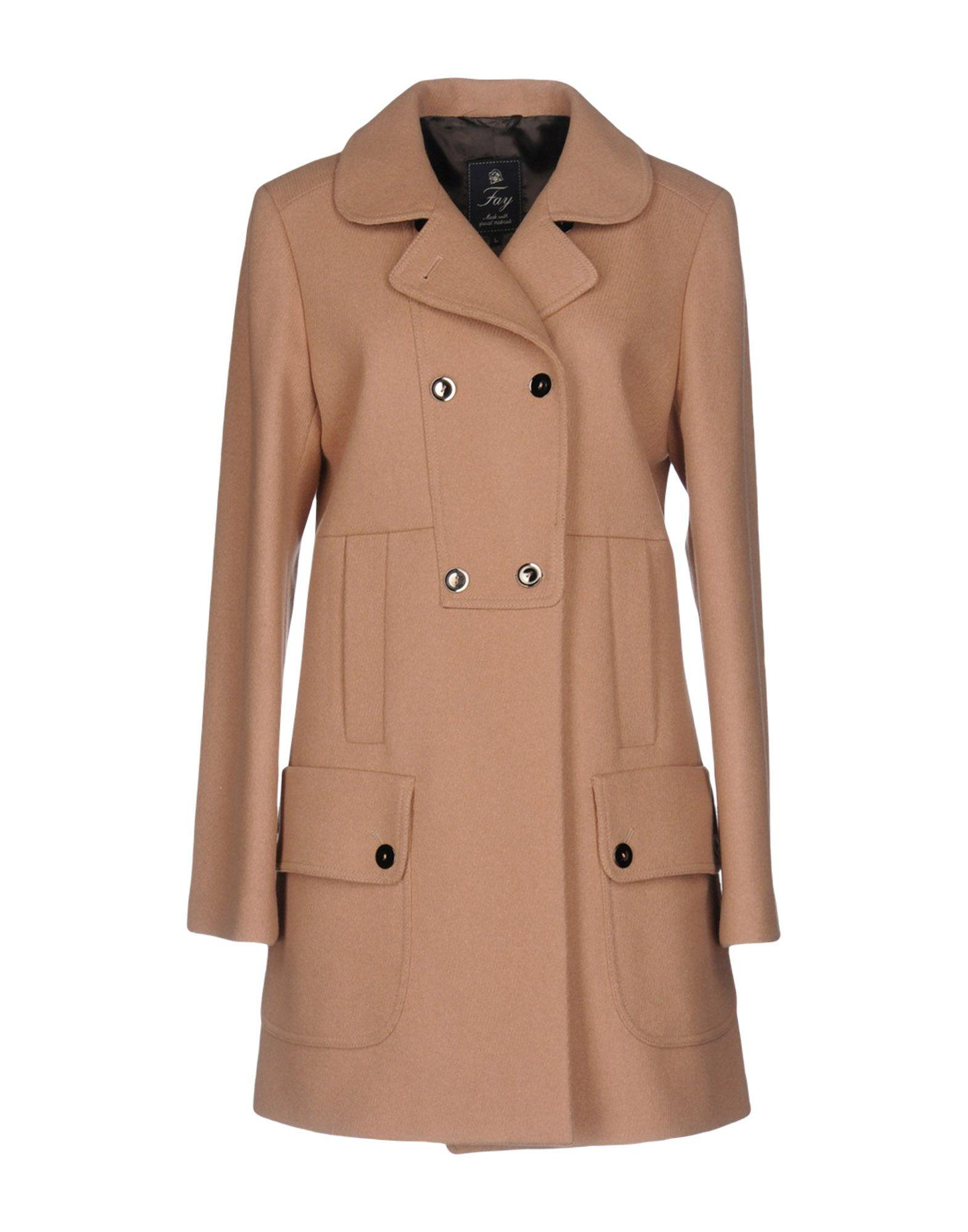 Fay Coat In Camel