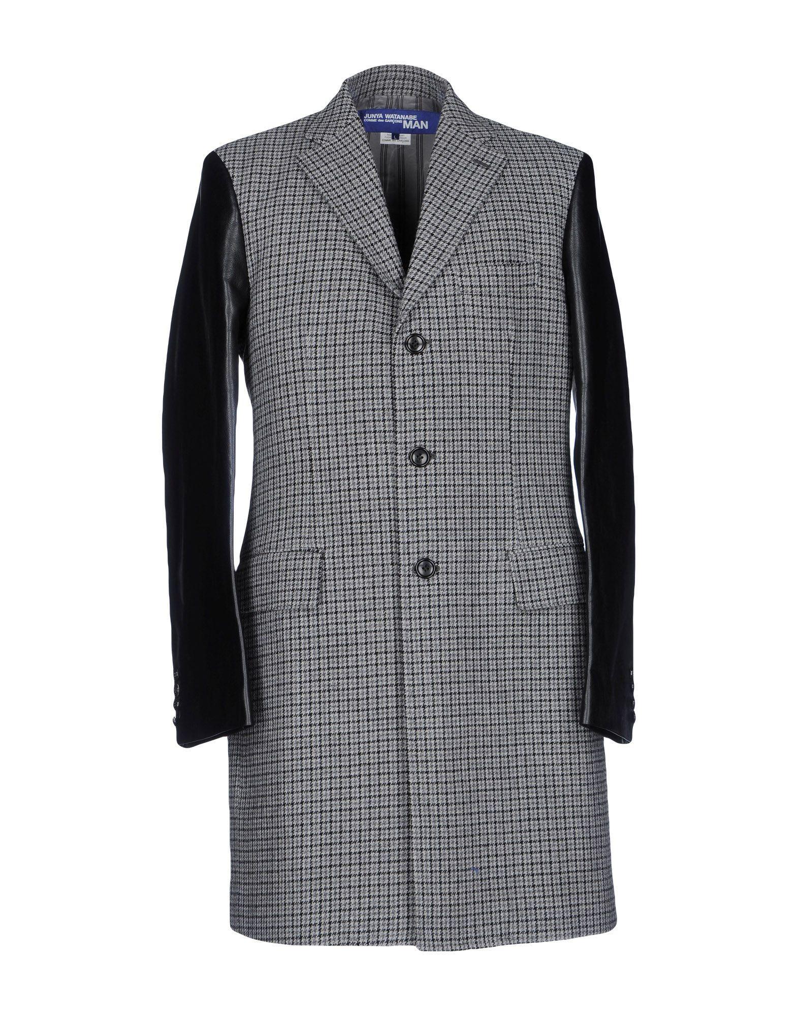 Junya Watanabe Coats In Grey