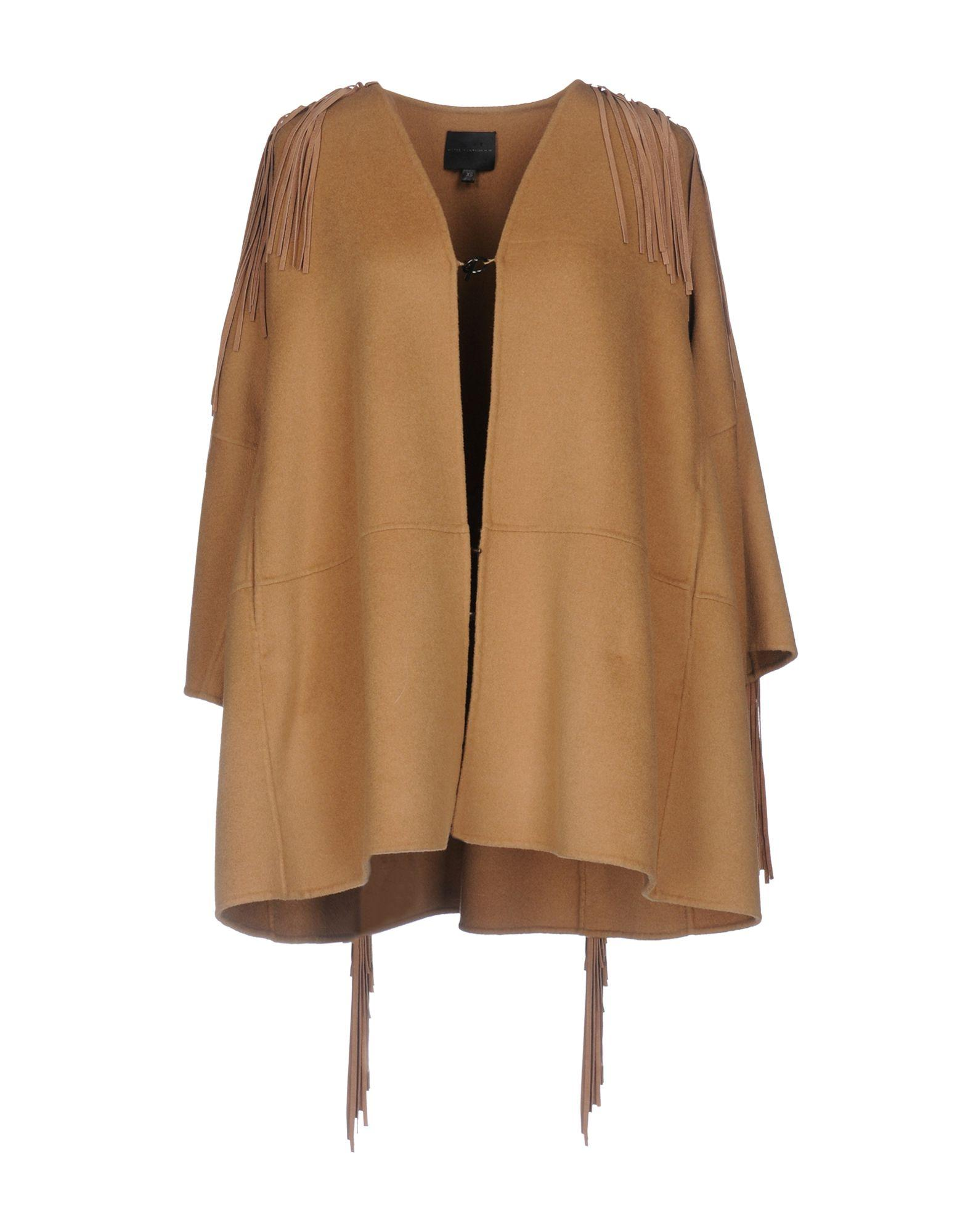 Hotel Particulier Coats In Camel