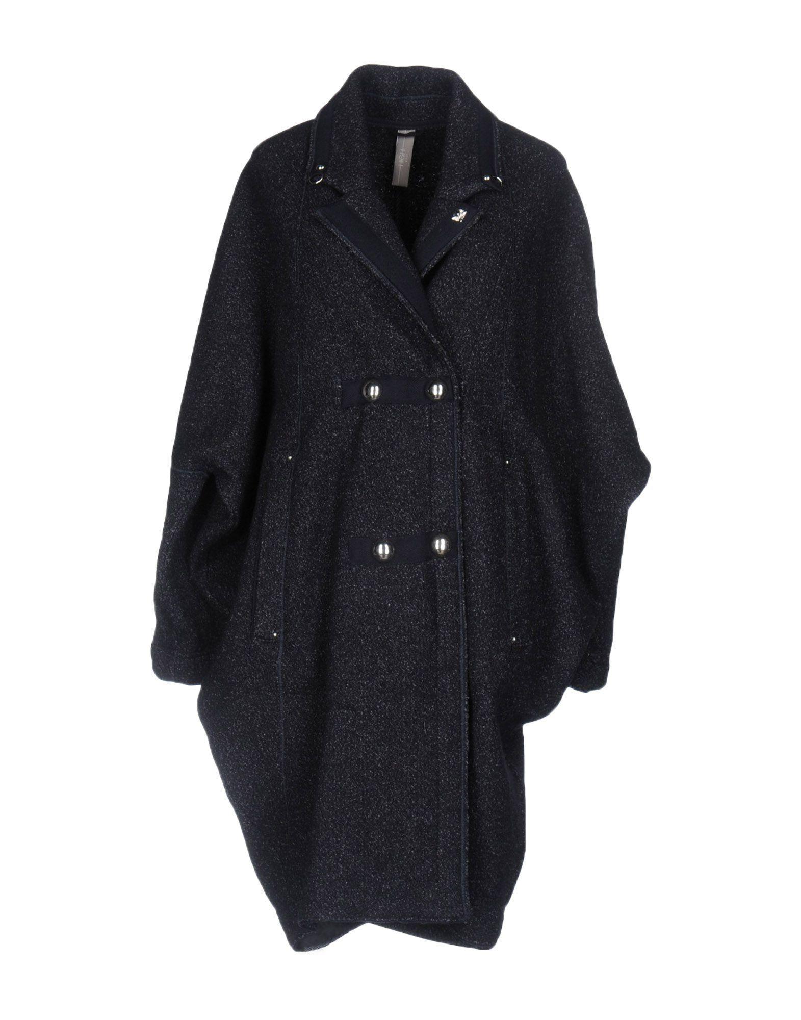 High Coats In Dark Blue