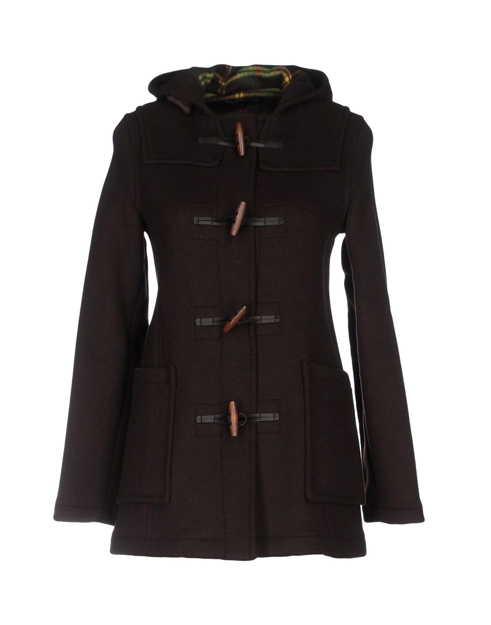 Gloverall Coats In Dark Brown