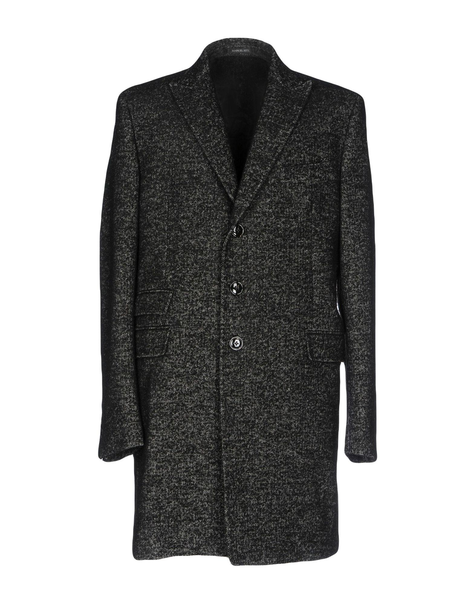 Manuel Ritz Coat In Black