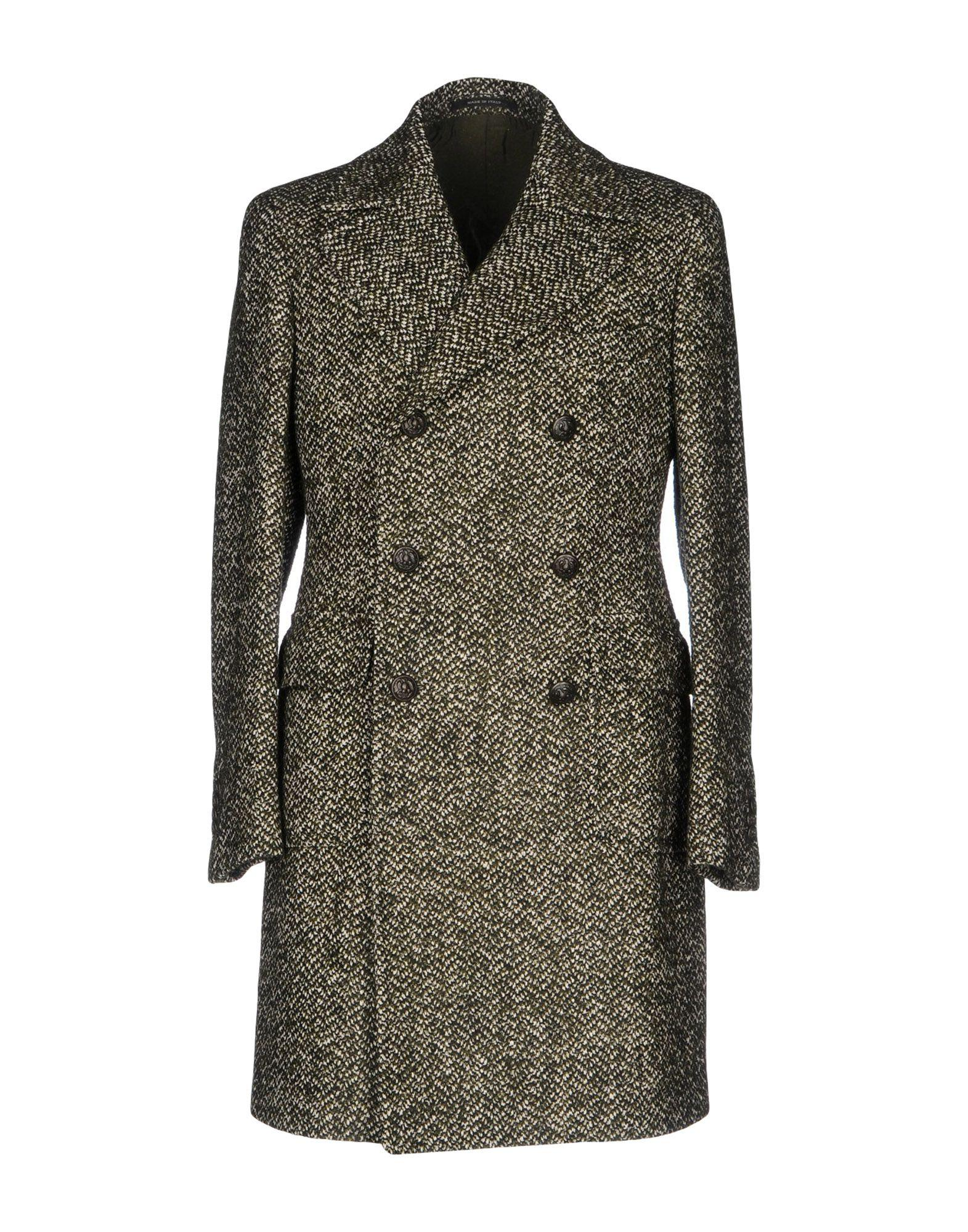 Tagliatore Coat In Military Green