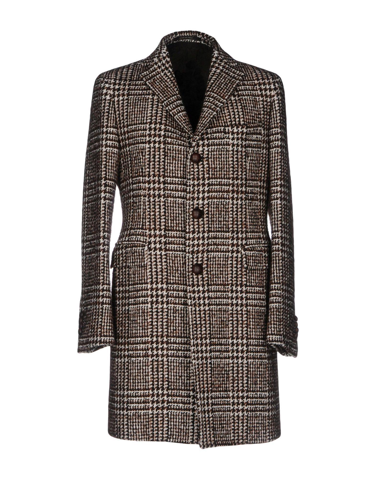 Tagliatore Coat In Brown