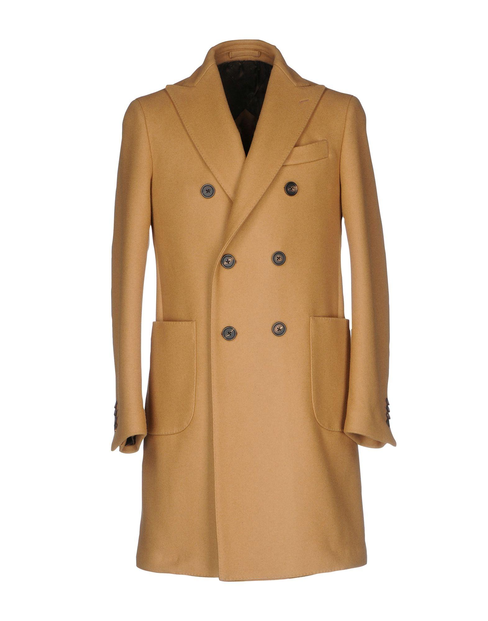 Lardini Coats In Camel