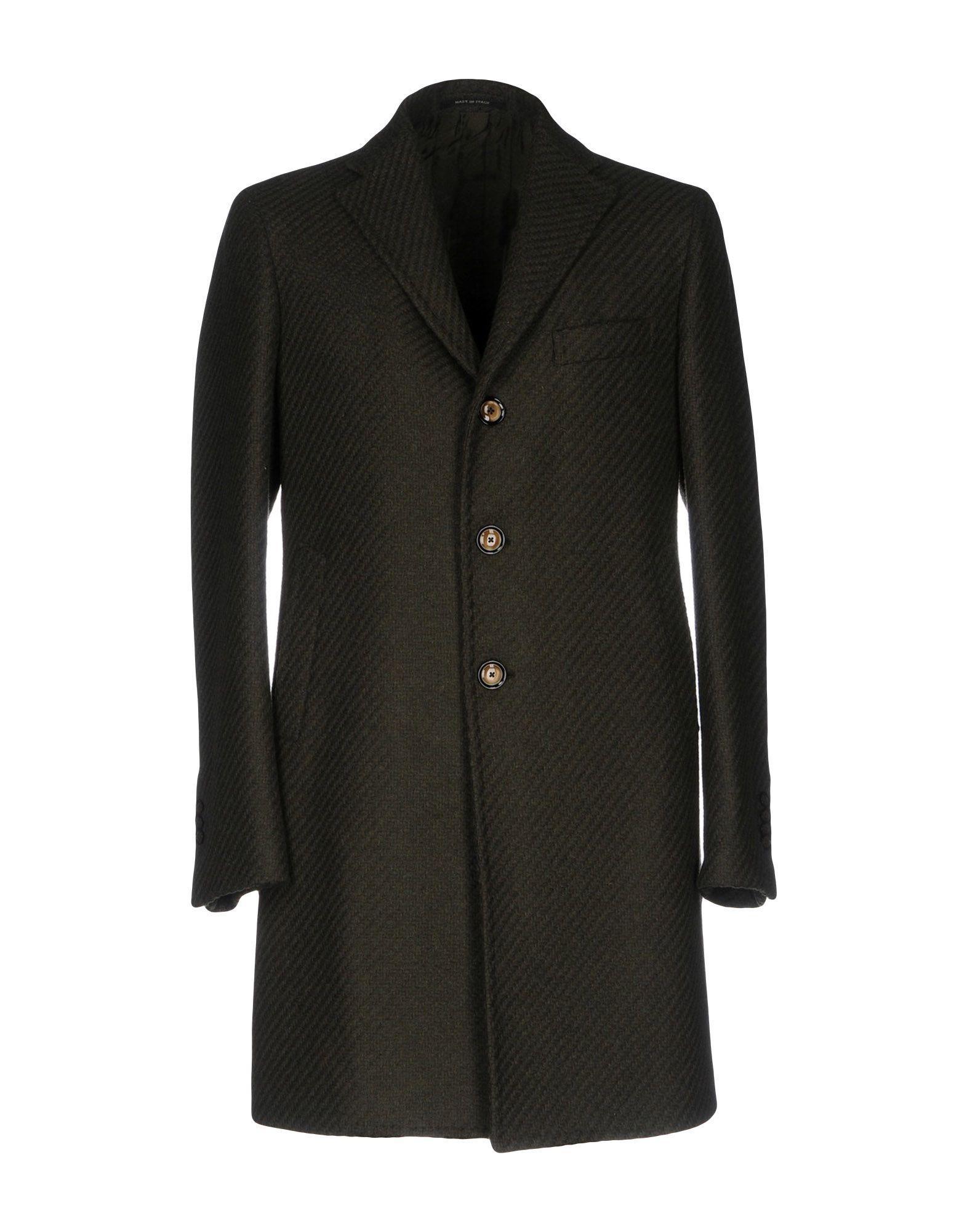Tagliatore Coats In Military Green