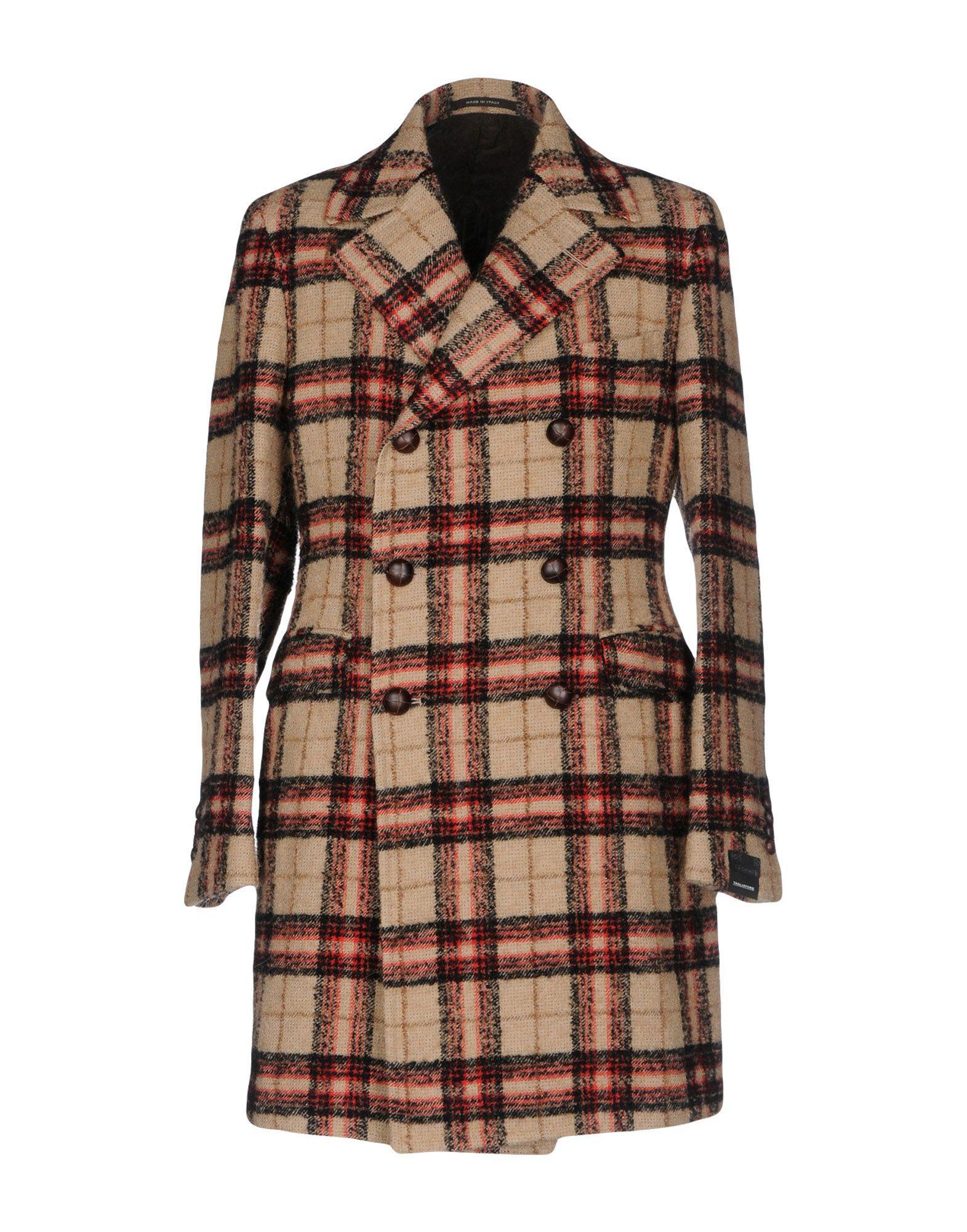 Tagliatore Coats In Beige