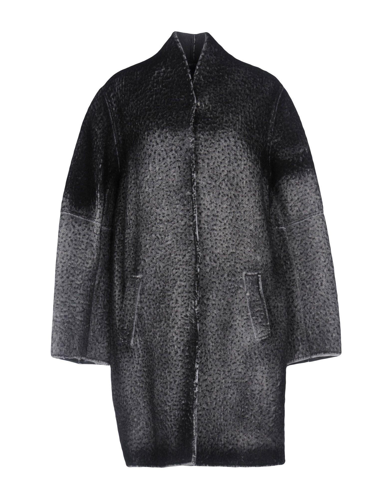Avant Toi Coats In Steel Grey