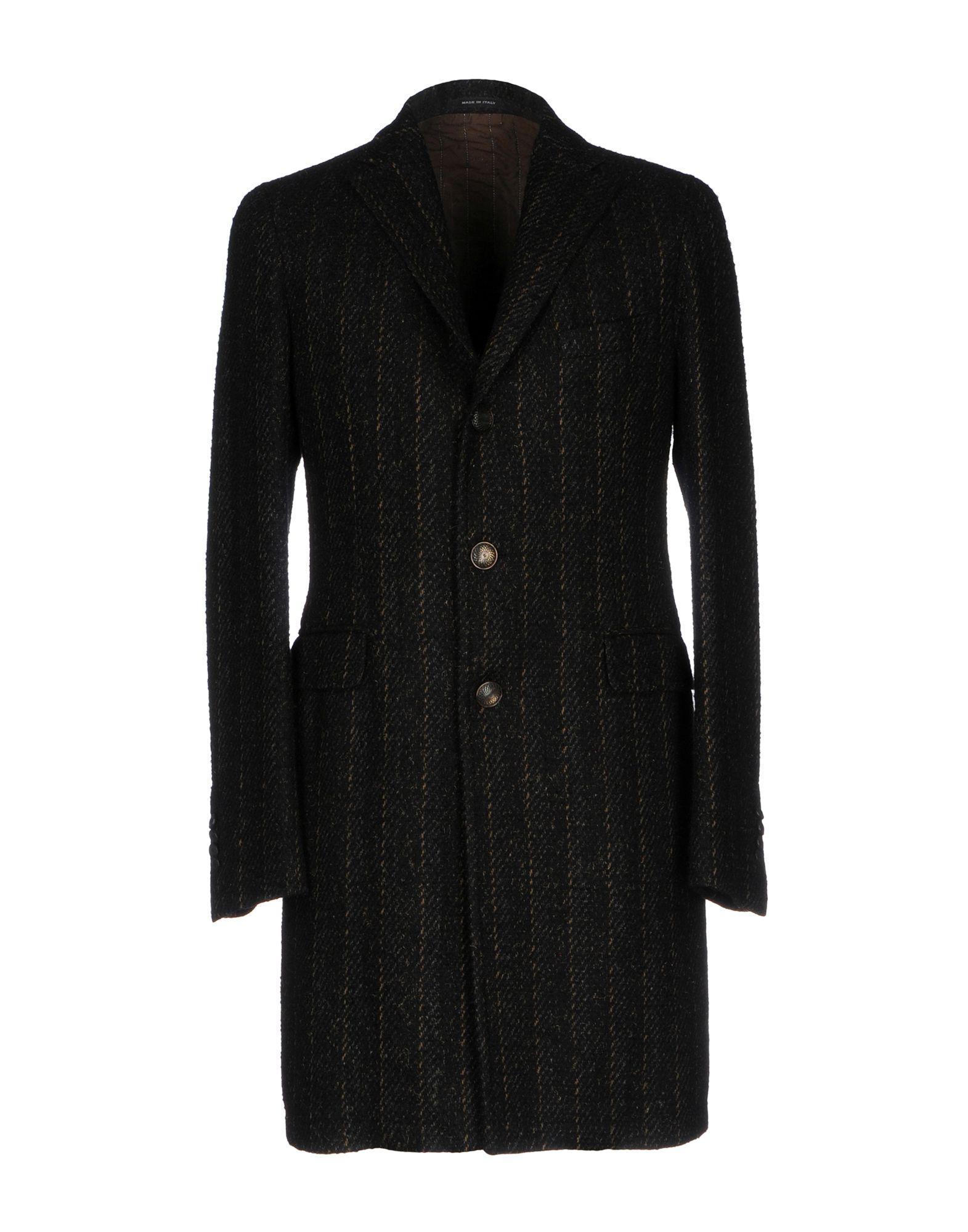 Tagliatore Coats In Black