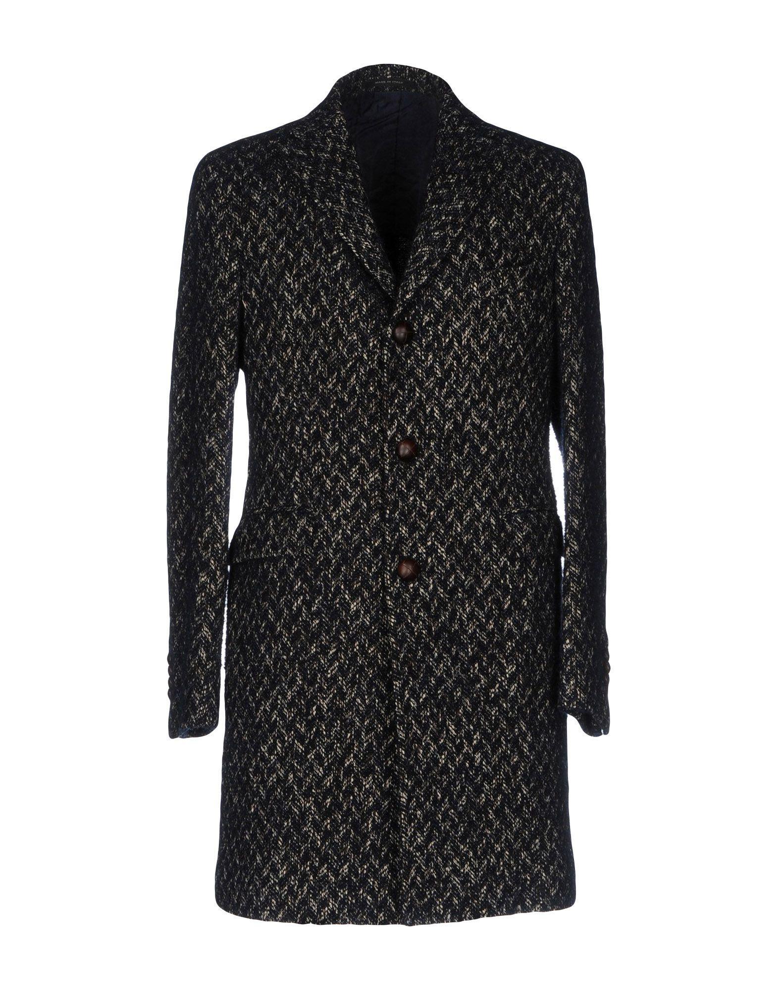 Tagliatore Coat In Dark Blue