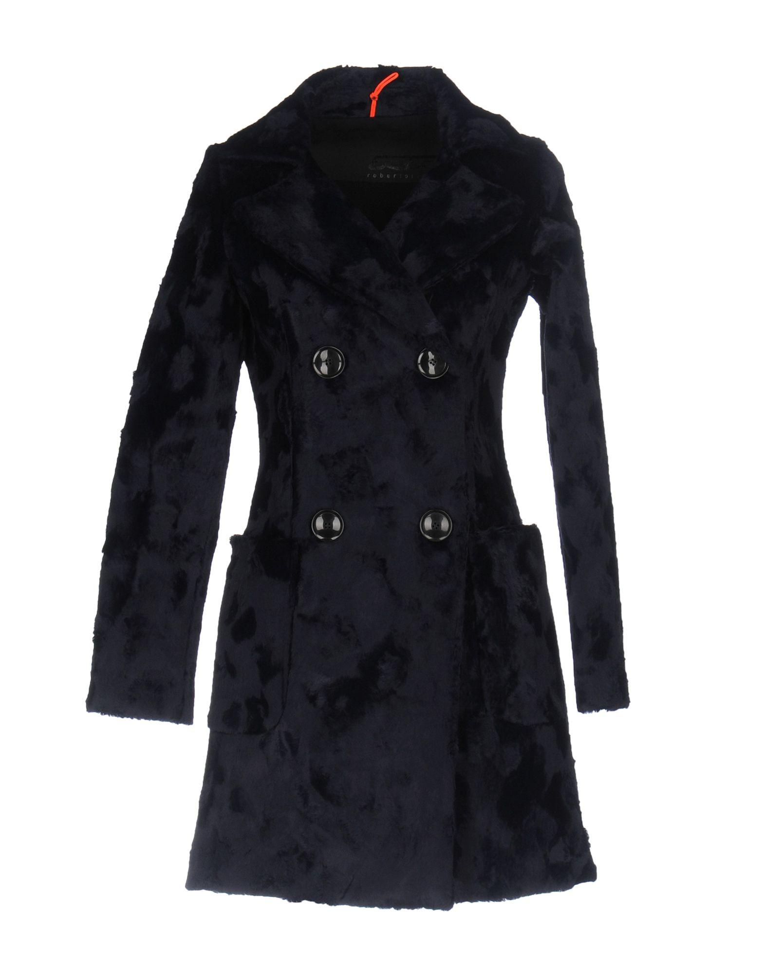Rrd Coats In Dark Blue