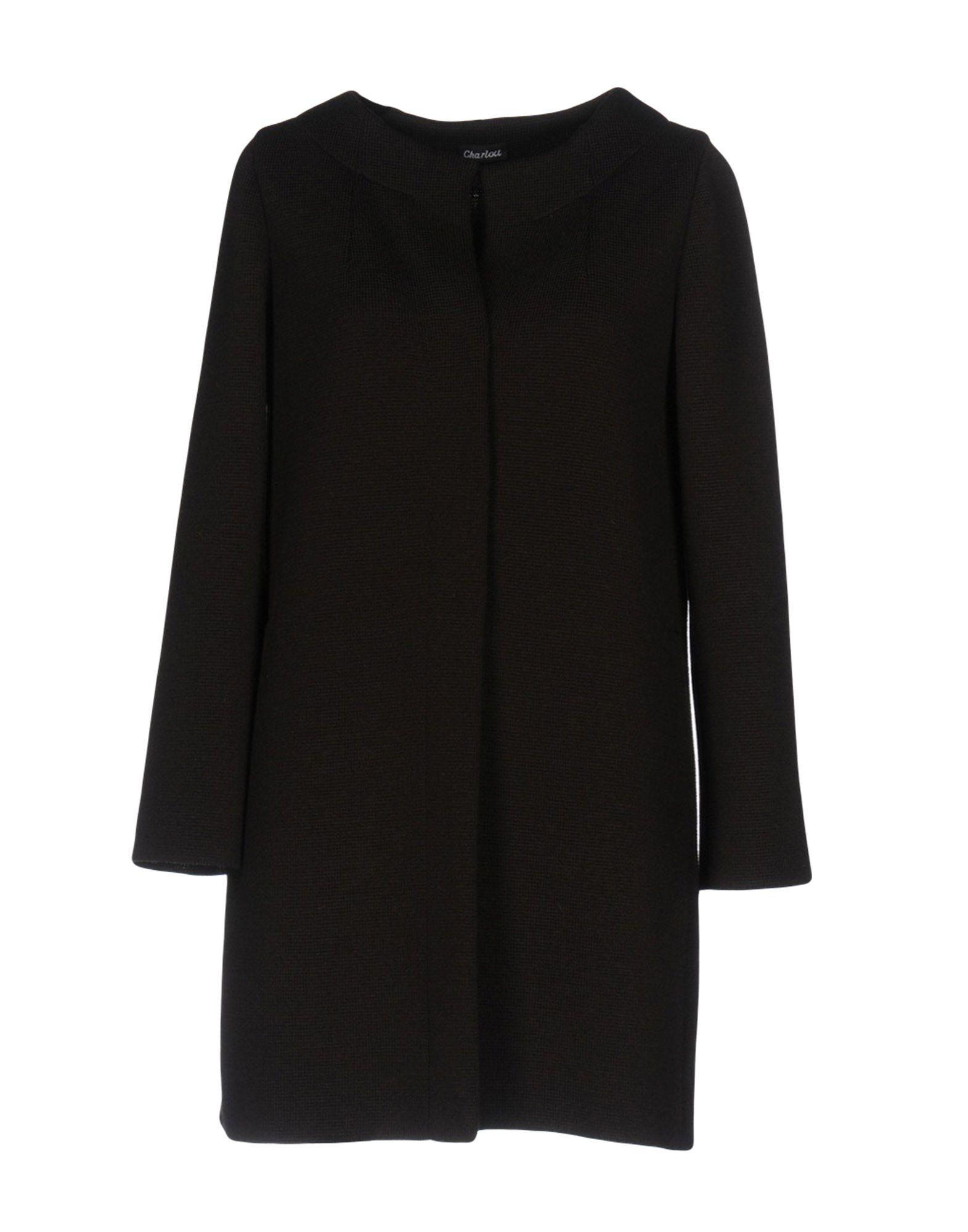 Charlott Coats In Dark Brown