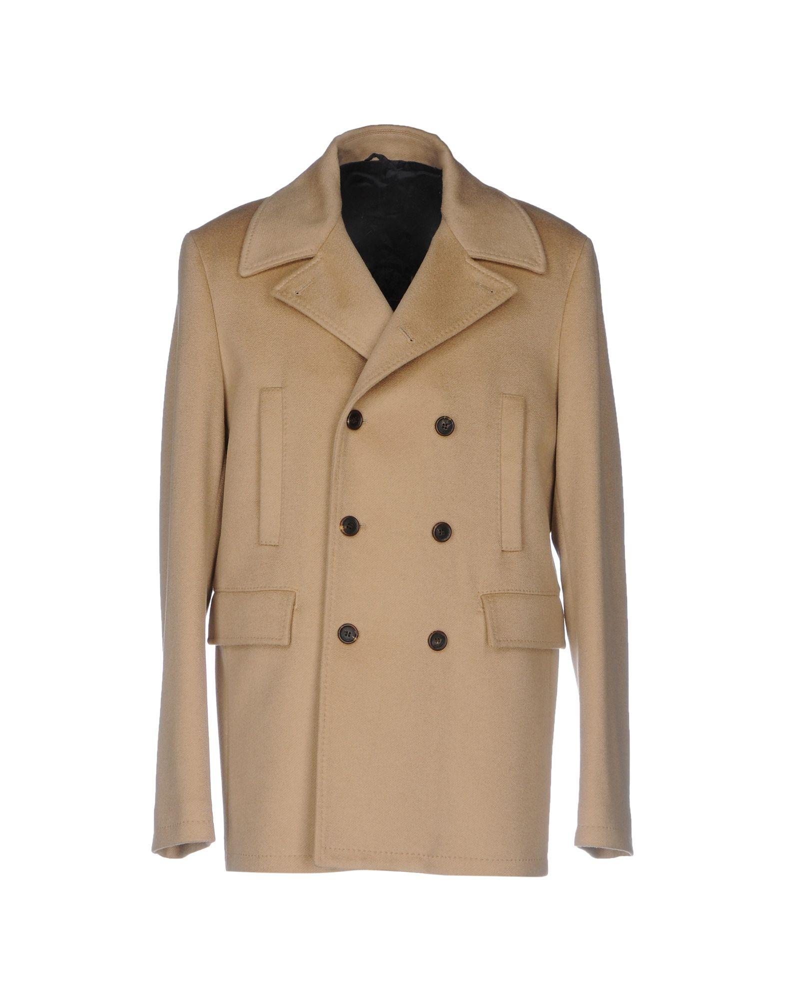 Malo Coat In Beige