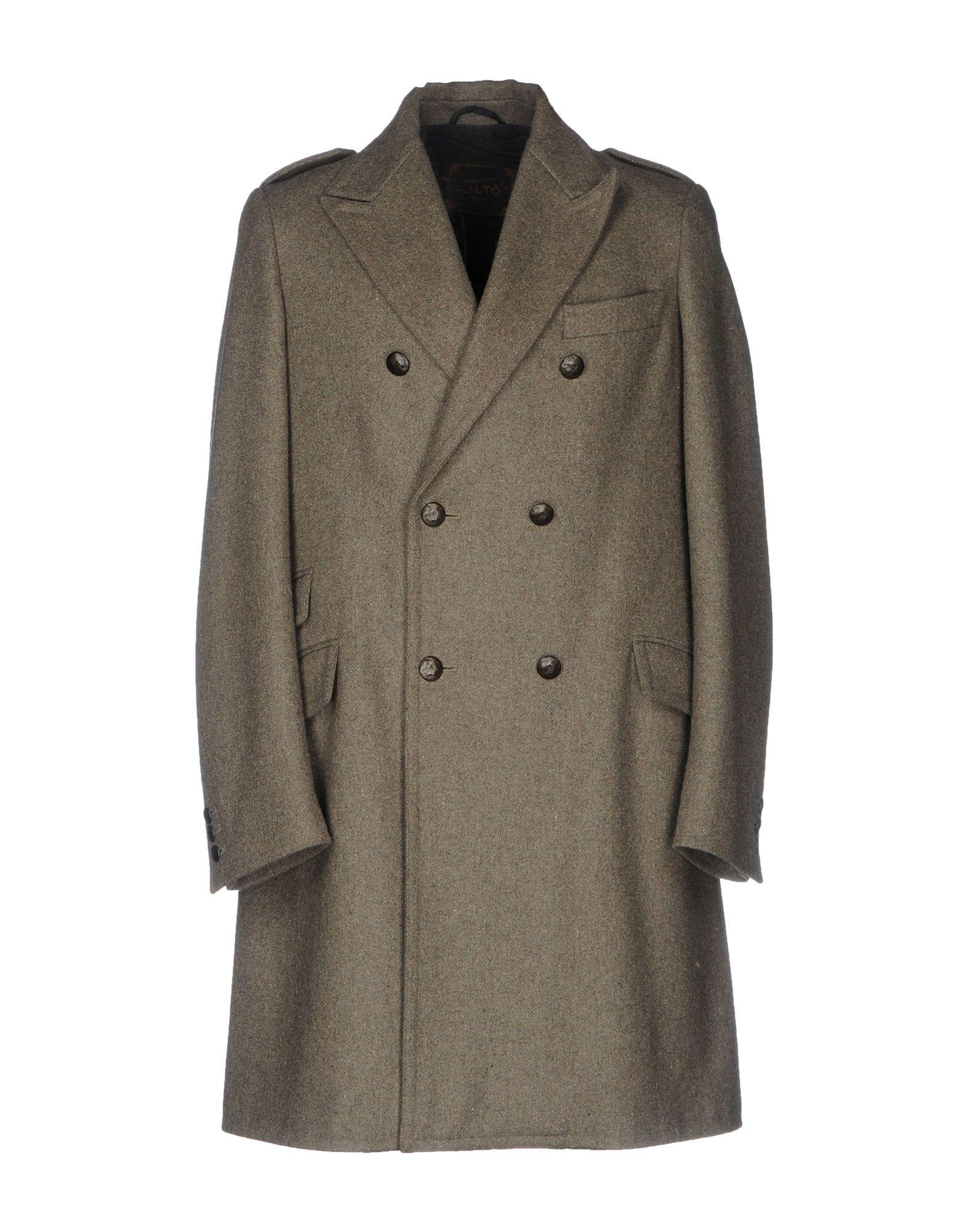 PaltÒ Coat In Military Green