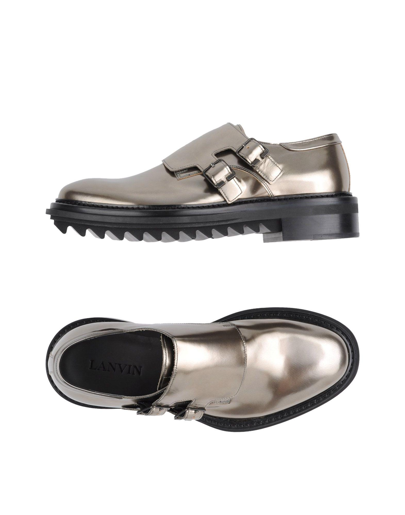 Lanvin Loafers In Bronze