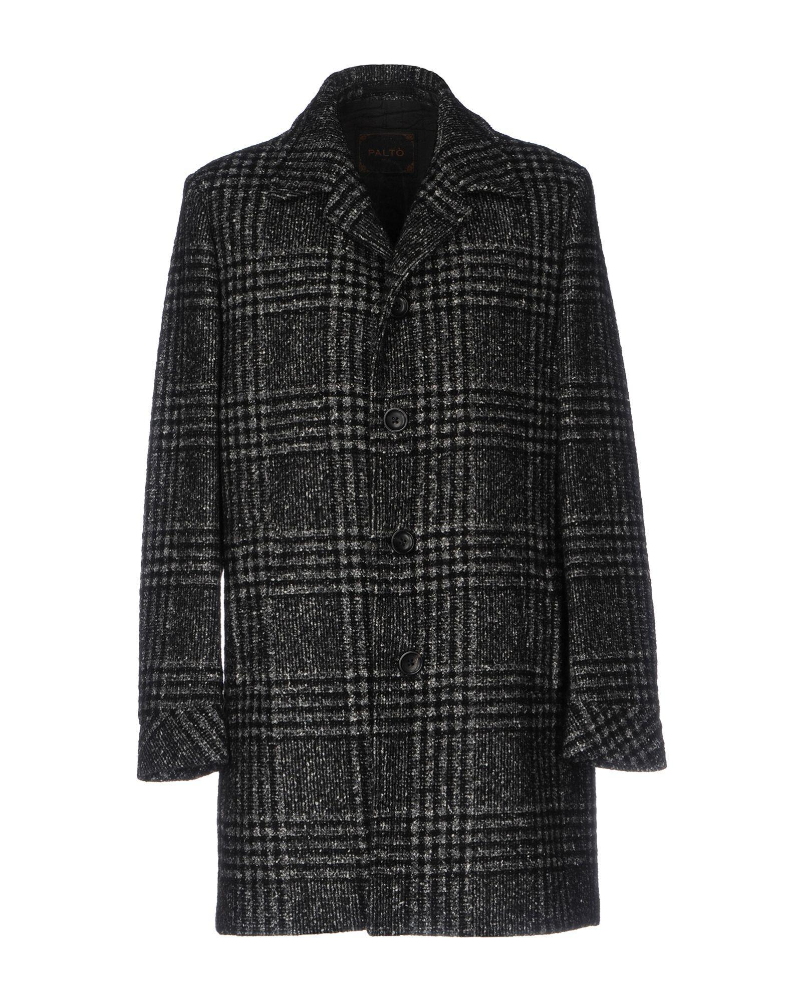 PaltÒ Coat In Lead