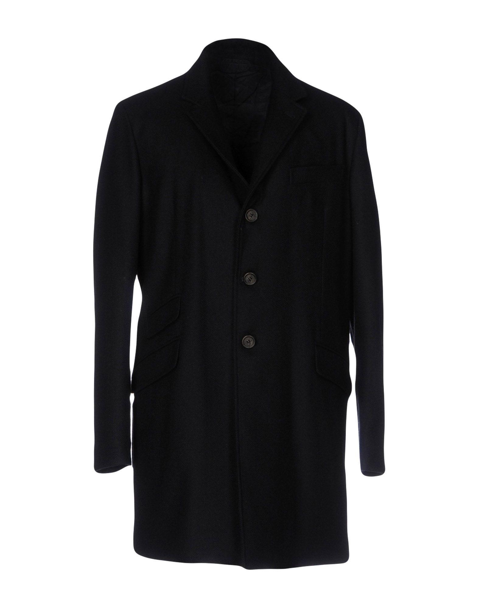 Aspesi Coat In Dark Blue