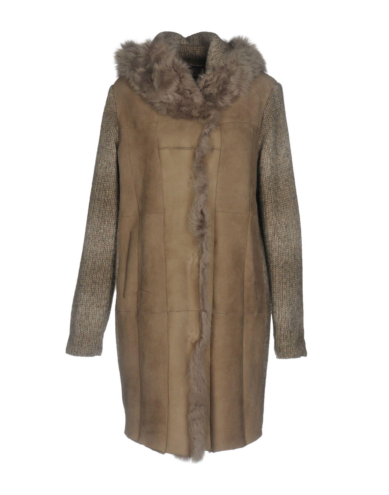 Gms-75 Coats In Grey